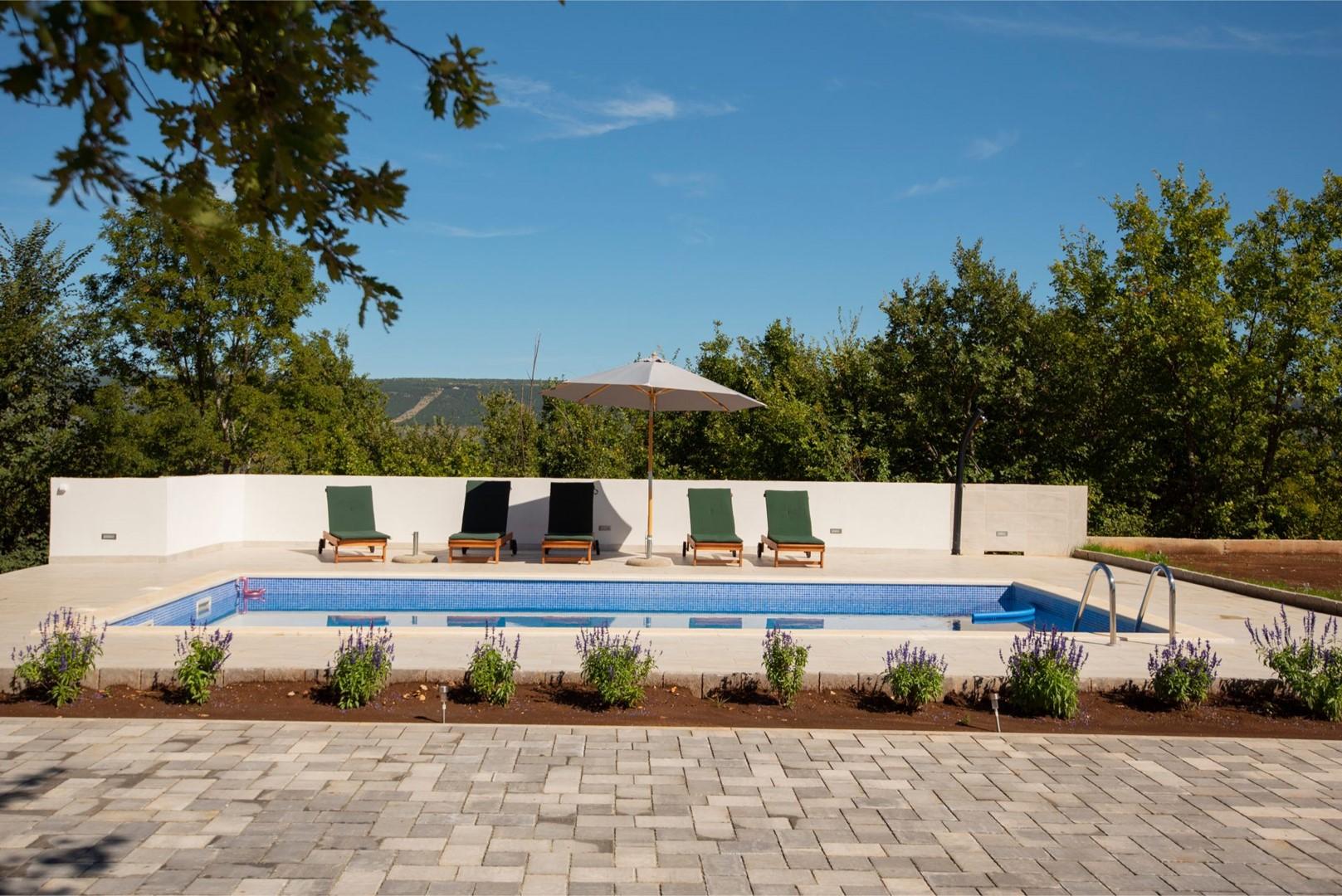 Ferienhaus ctim298-Modernes Ferienhaus mit Pool für 4+2 Personen (2639599), Kamenmost, , Dalmatien, Kroatien, Bild 15