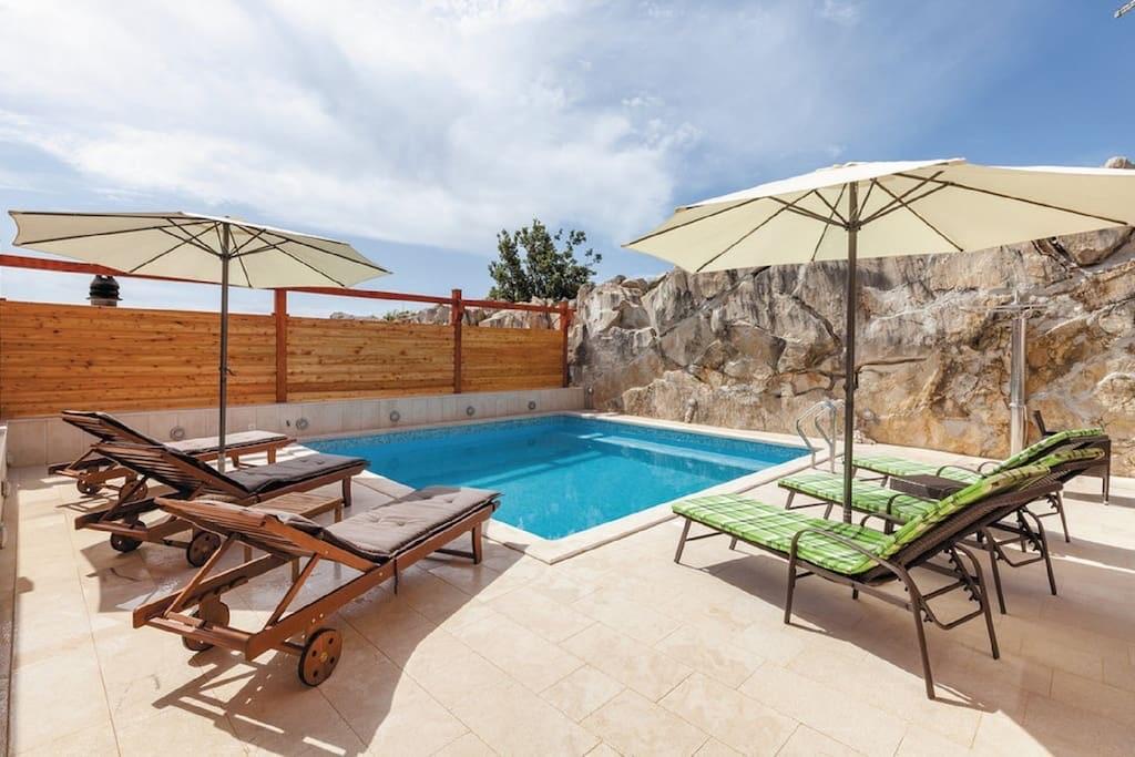 Villa Ajduk *** Luxusvilla in der Nähe von Sp  in Kroatien