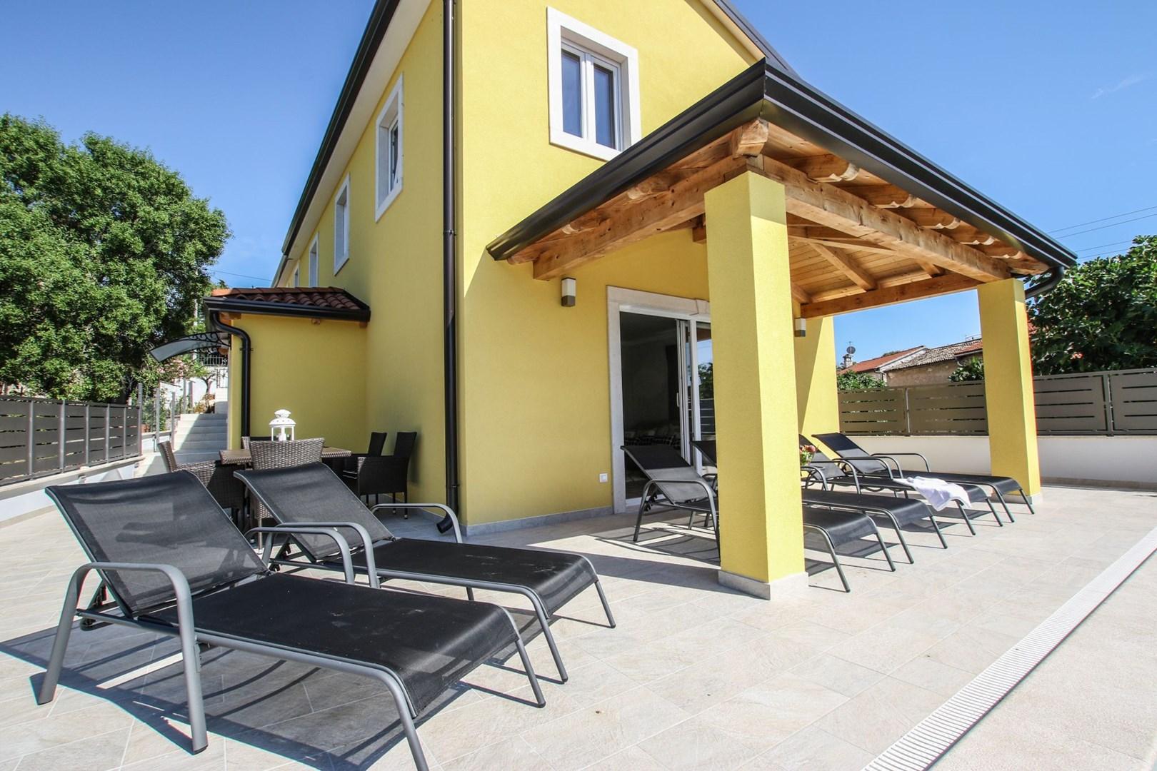 Ferienhaus Villa Cecilia mit privatem Pool in der Nähe von Aquacolors (2240240), Mugeba, , Istrien, Kroatien, Bild 3