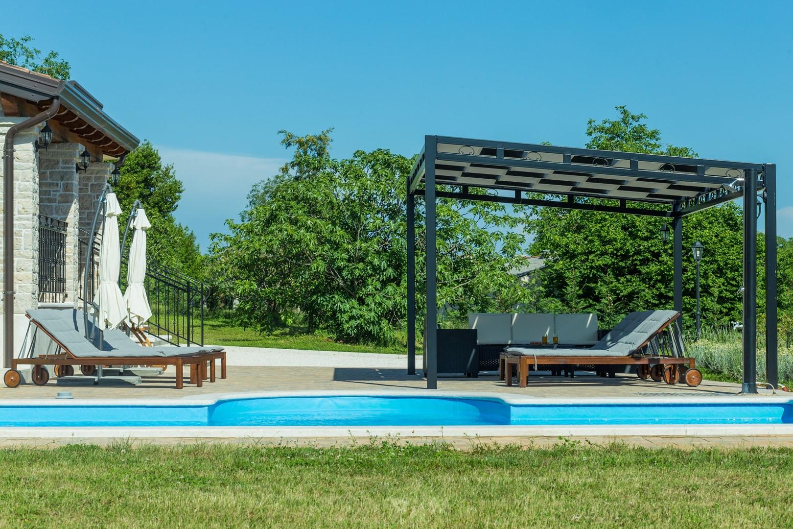 Ferienhaus Villa Elida mit Pool in abgelegene Lage - Zentral-Istrien (2789996), Pazin, , Istrien, Kroatien, Bild 35