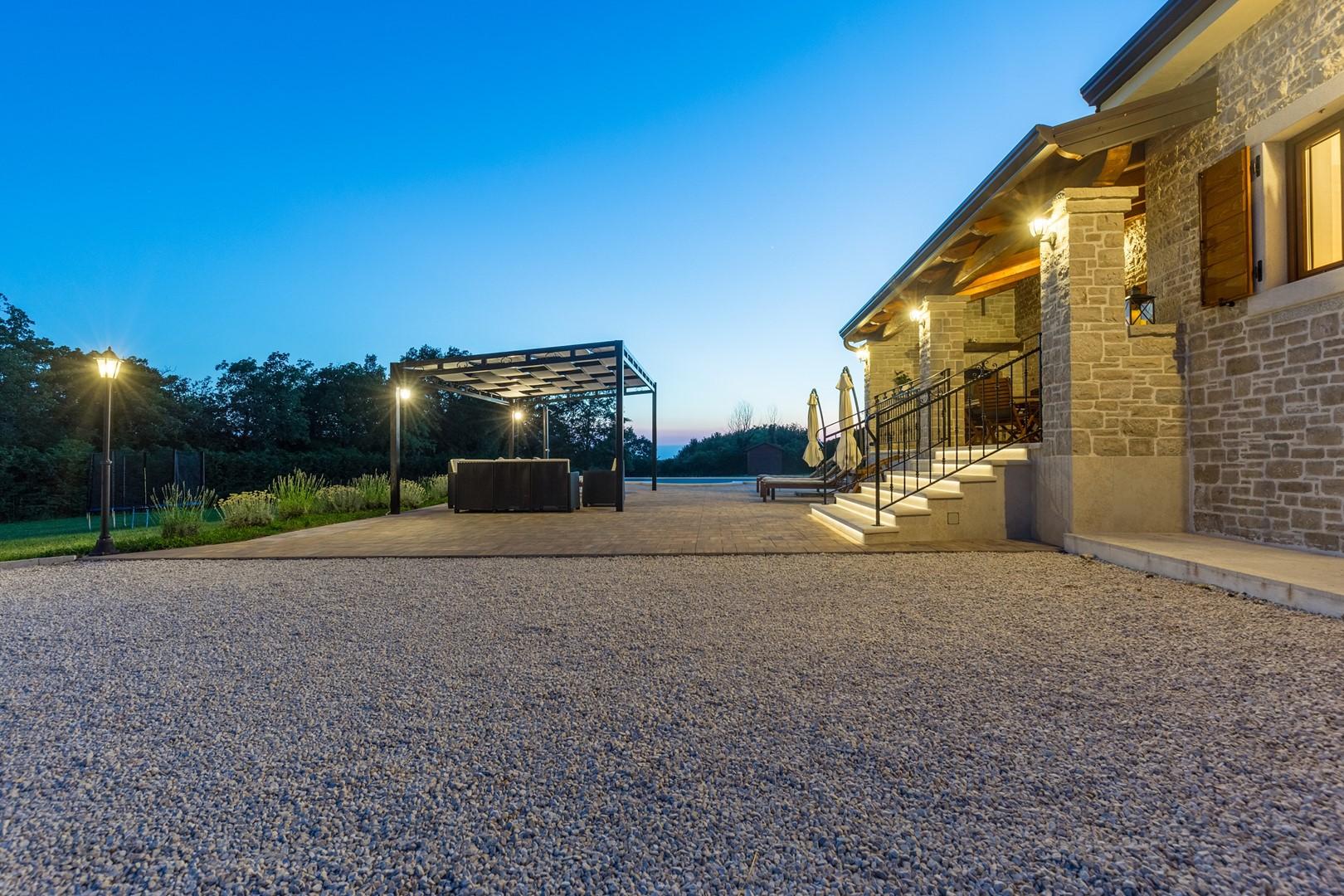Ferienhaus Villa Elida mit Pool in abgelegene Lage - Zentral-Istrien (2789996), Pazin, , Istrien, Kroatien, Bild 38
