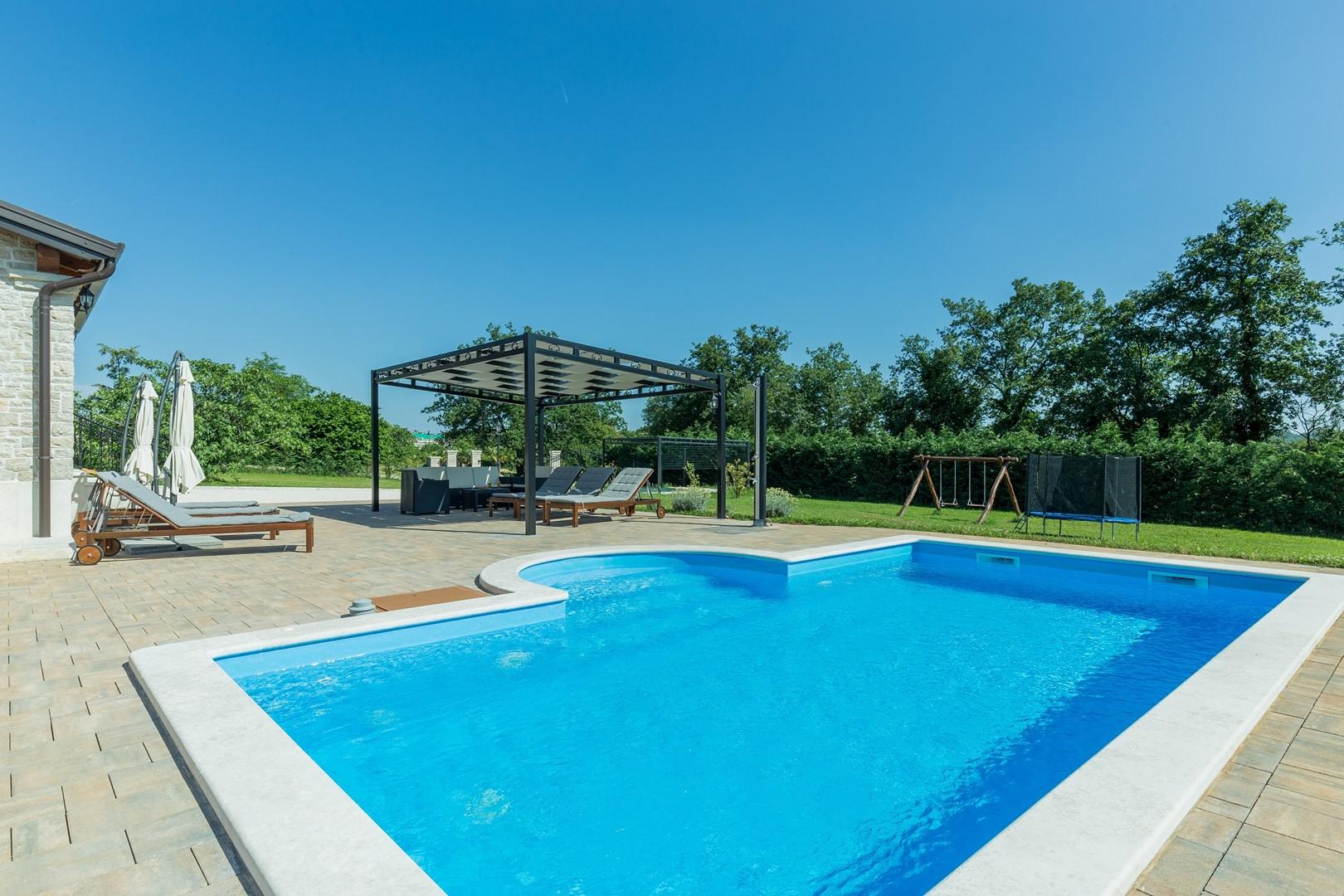 Ferienhaus Villa Elida mit Pool in abgelegene Lage - Zentral-Istrien (2789996), Pazin, , Istrien, Kroatien, Bild 32