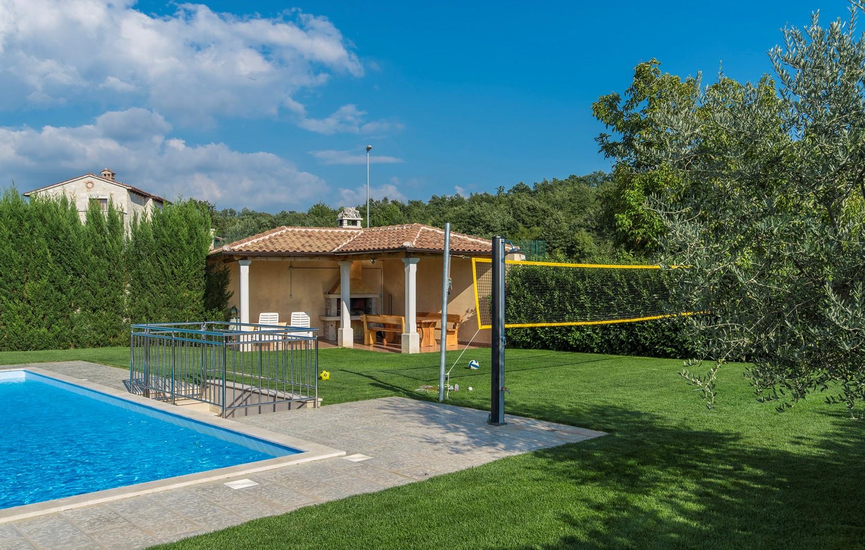 Ferienhaus Geräumige Villa Nikka mit schönem Garten und Pool (1412592), Kanfanar, , Istrien, Kroatien, Bild 26