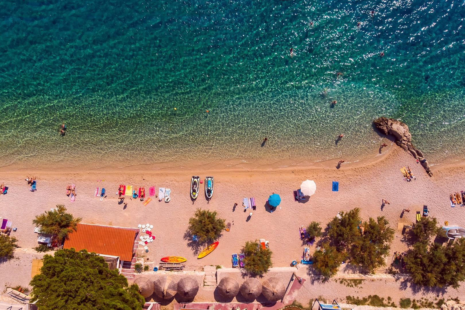 Ferienhaus Privater Pool 3,5 x 8,6 m, überdachter Essbereich im Freien, kostenloses WLAN, voll - klim (2663850), Kostanje, , Dalmatien, Kroatien, Bild 32
