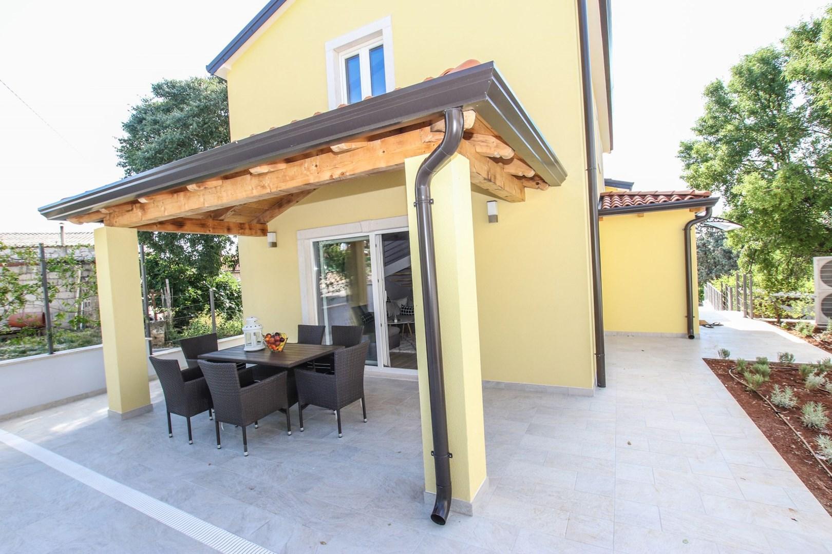 Ferienhaus Villa Albina mit privatem Pool in der Nähe von Aquacolors (2240246), Mugeba, , Istrien, Kroatien, Bild 8