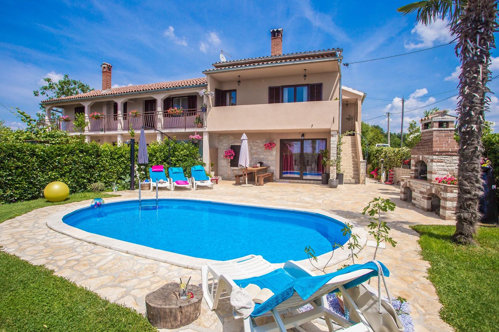 Ferienhaus Marinela mit privatem Pool (1412599), Kanfanar, , Istrien, Kroatien, Bild 6