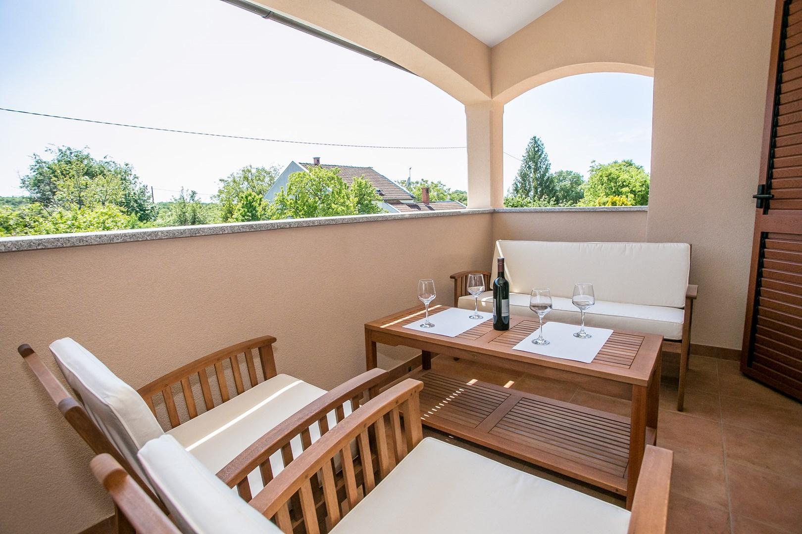 Ferienwohnung Schön eingerichtete Wohnung Stanko I mit Balkon (2191316), Vrvari, , Istrien, Kroatien, Bild 6