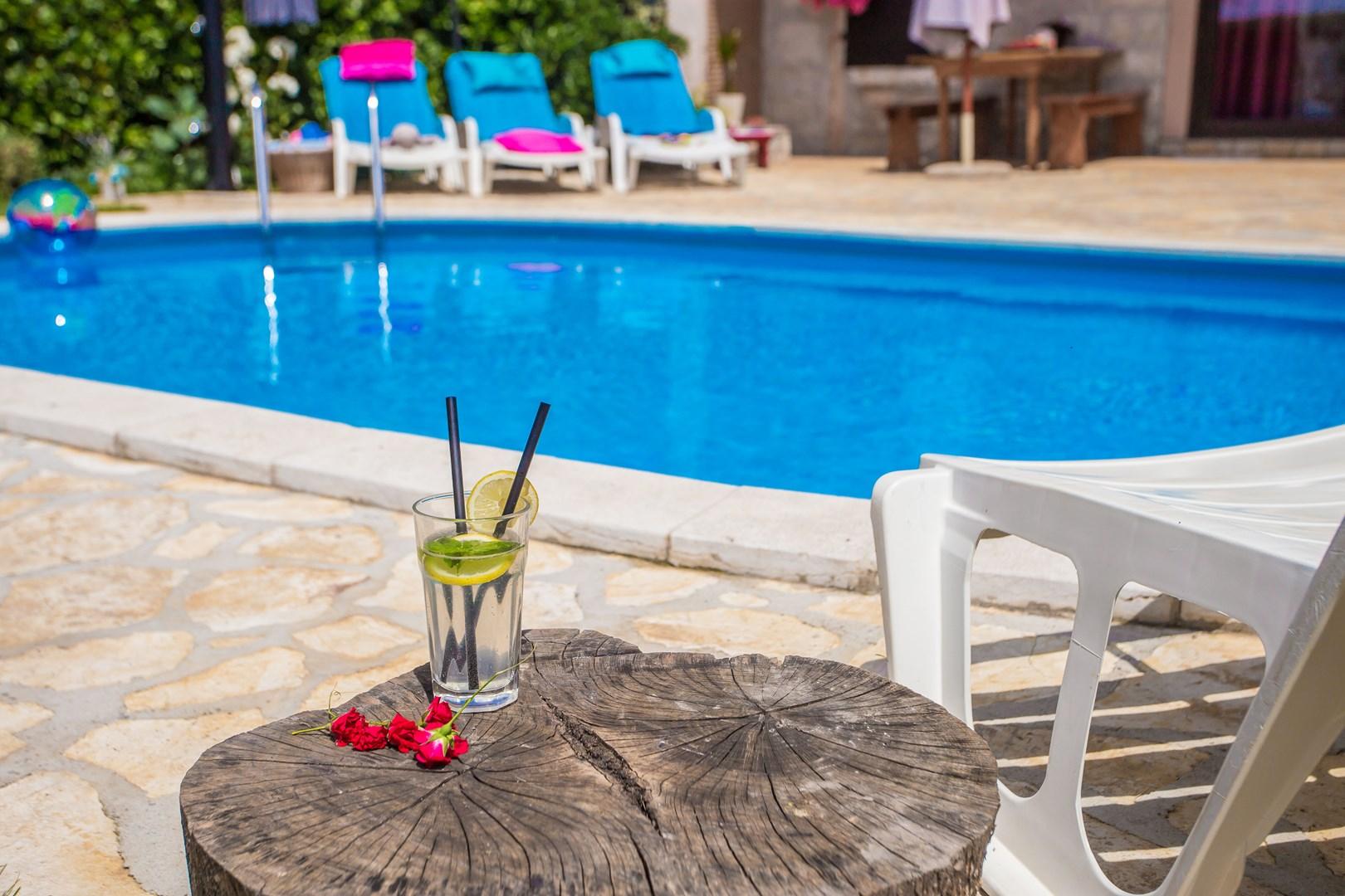 Ferienhaus Marinela mit privatem Pool (1412599), Kanfanar, , Istrien, Kroatien, Bild 18