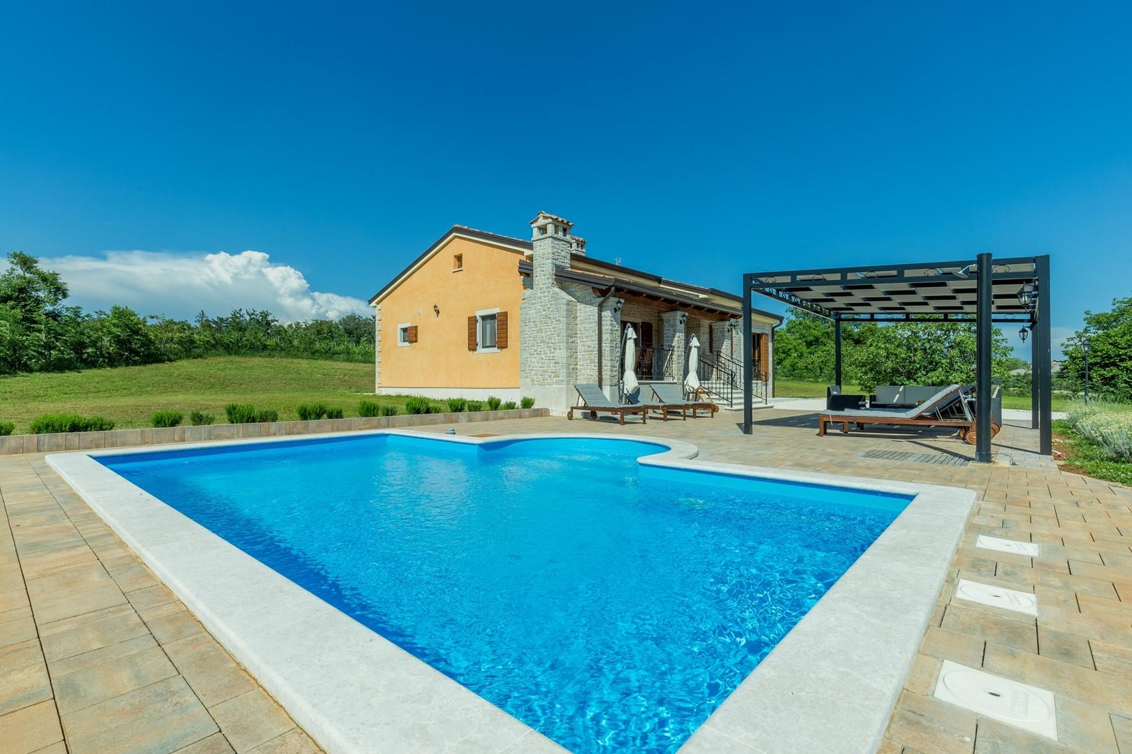 Ferienhaus Villa Elida mit Pool in abgelegene Lage - Zentral-Istrien (2789996), Pazin, , Istrien, Kroatien, Bild 2