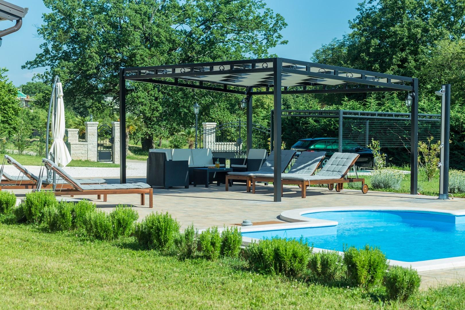 Ferienhaus Villa Elida mit Pool in abgelegene Lage - Zentral-Istrien (2789996), Pazin, , Istrien, Kroatien, Bild 3