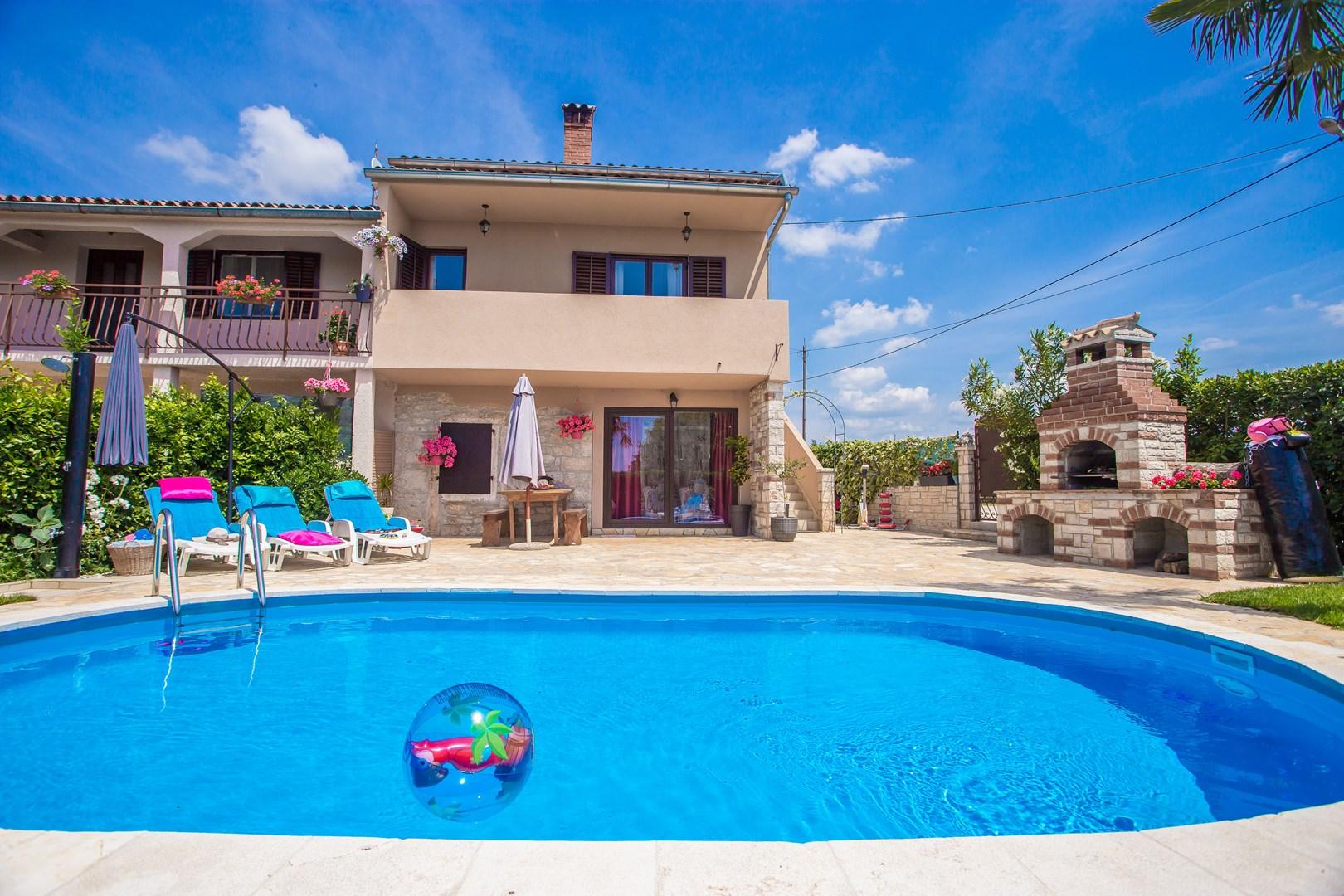 Ferienhaus Marinela mit privatem Pool (1412599), Kanfanar, , Istrien, Kroatien, Bild 8