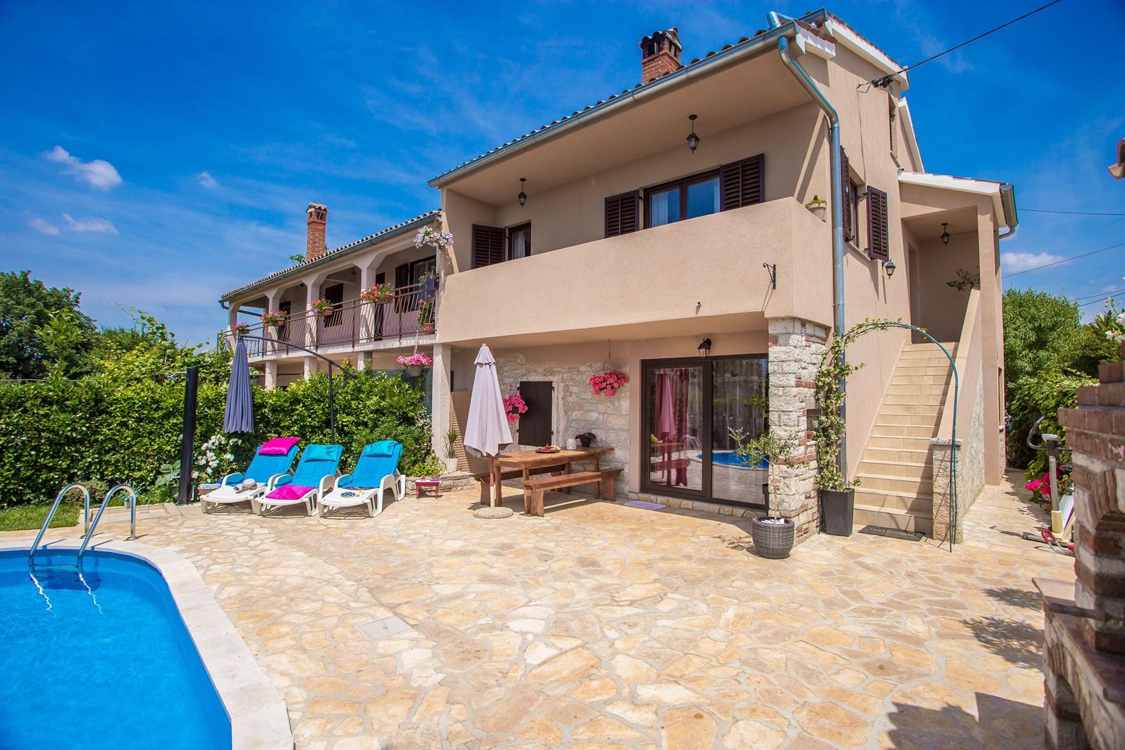 Ferienhaus Marinela mit privatem Pool (1412599), Kanfanar, , Istrien, Kroatien, Bild 16