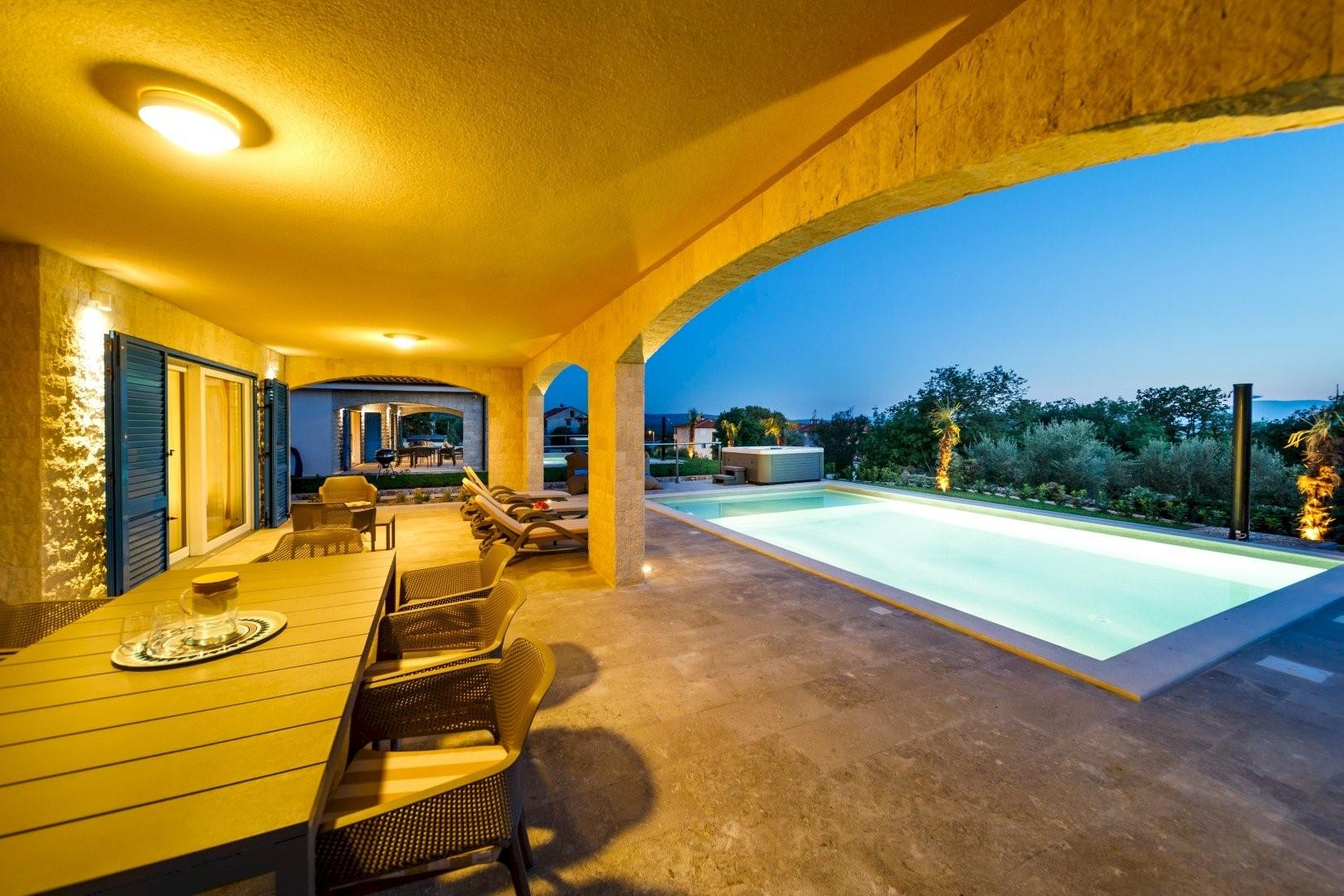 Ferienhaus Luxury Villa Loma 2 (2586643), Sveti Vid-Miholjice, Insel Krk, Kvarner, Kroatien, Bild 17