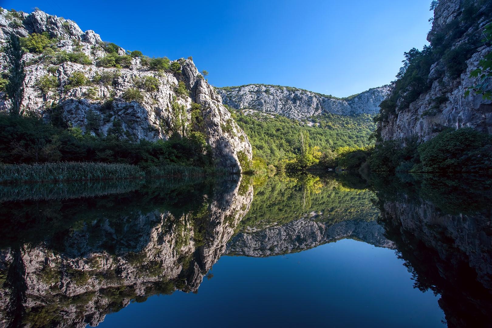 Ferienhaus Privater Pool 3,5 x 8,6 m, überdachter Essbereich im Freien, kostenloses WLAN, voll - klim (2663850), Kostanje, , Dalmatien, Kroatien, Bild 43
