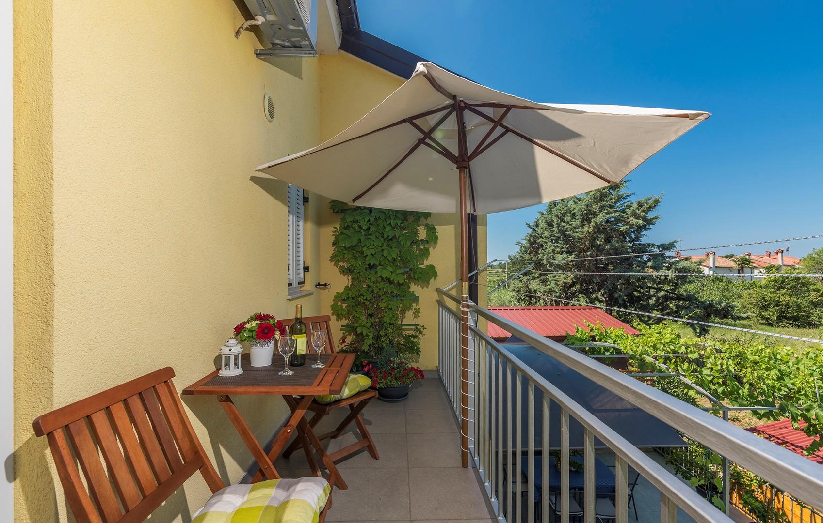 Ferienwohnung Apartnent Nensi mit Balkon (2080952), Vrvari, , Istrien, Kroatien, Bild 14