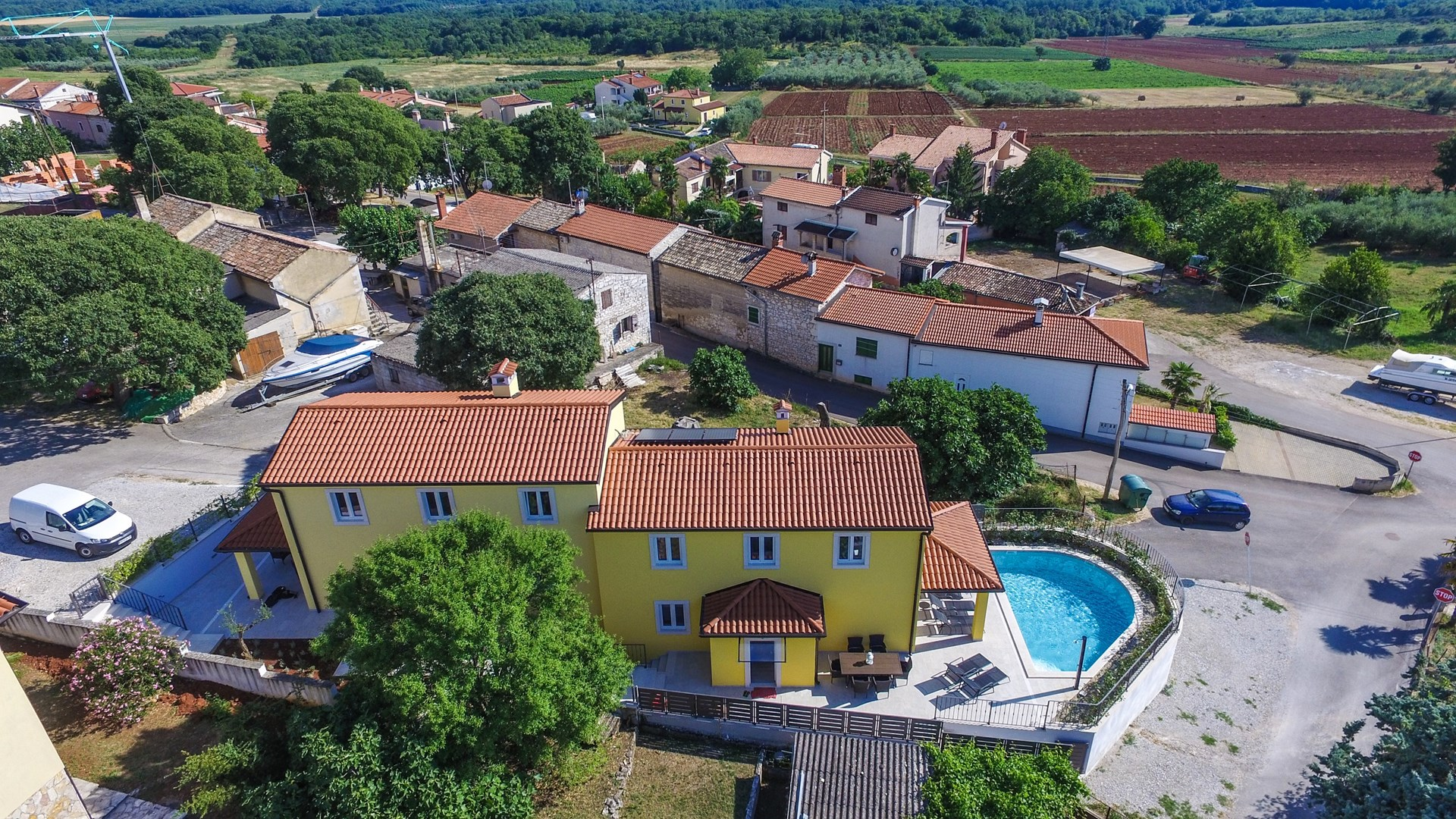 Ferienhaus Villa Albina mit privatem Pool in der Nähe von Aquacolors (2240246), Mugeba, , Istrien, Kroatien, Bild 1