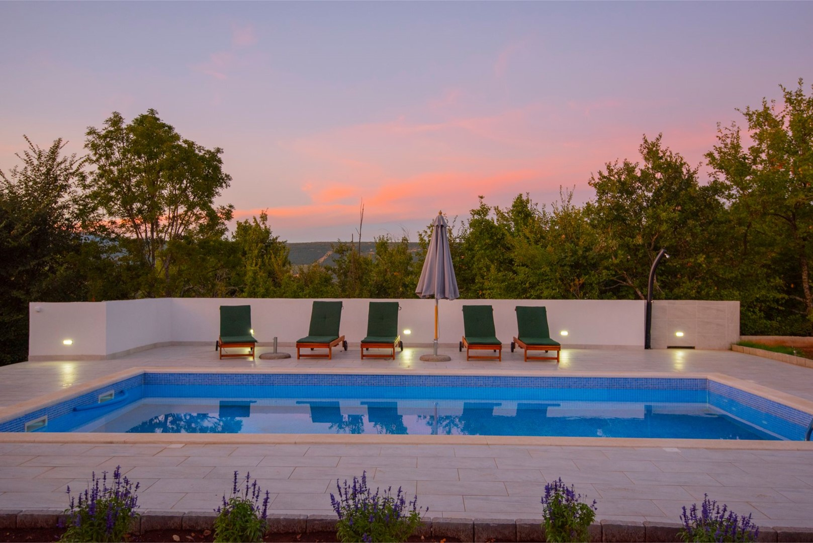 Ferienhaus ctim298-Modernes Ferienhaus mit Pool für 4+2 Personen (2639599), Kamenmost, , Dalmatien, Kroatien, Bild 16