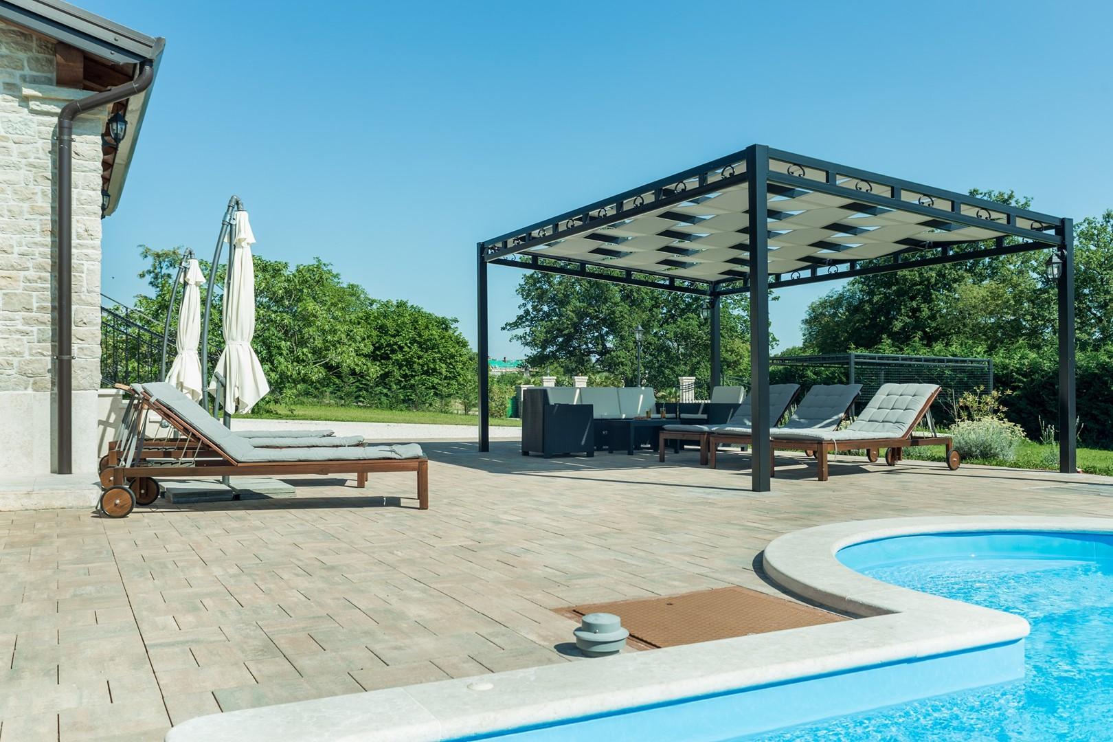 Ferienhaus Villa Elida mit Pool in abgelegene Lage - Zentral-Istrien (2789996), Pazin, , Istrien, Kroatien, Bild 6