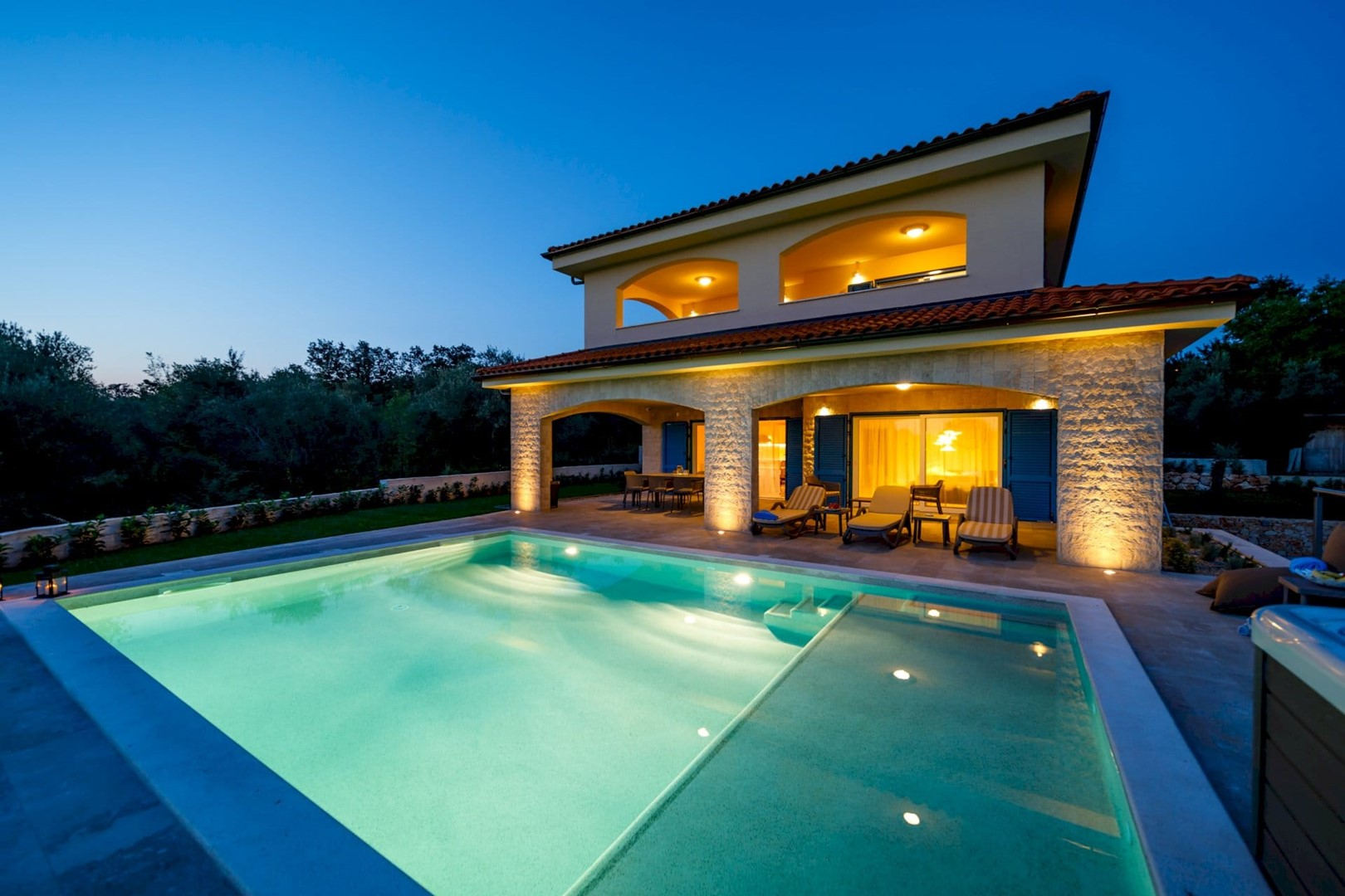 Ferienhaus Luxury Villa Loma 1 (2586644), Sveti Vid-Miholjice, Insel Krk, Kvarner, Kroatien, Bild 1