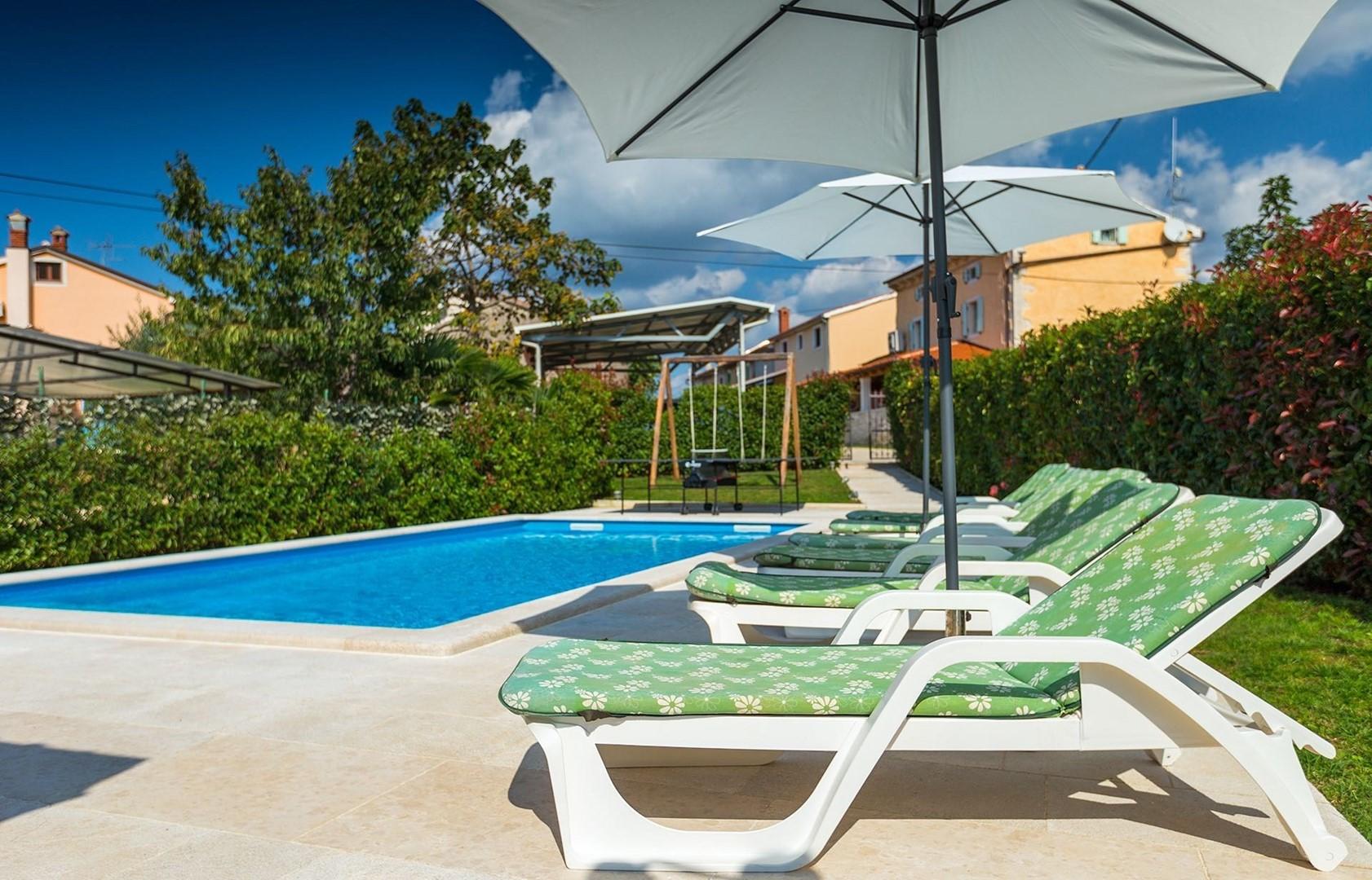 Ferienhaus Villa Bubani / private pool (860332), Kanfanar, , Istrien, Kroatien, Bild 4