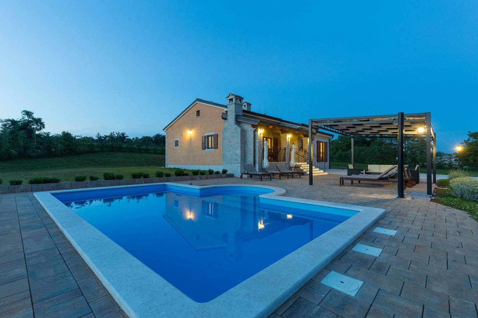 Ferienhaus Villa Elida mit Pool in abgelegene Lage - Zentral-Istrien (2789996), Pazin, , Istrien, Kroatien, Bild 7
