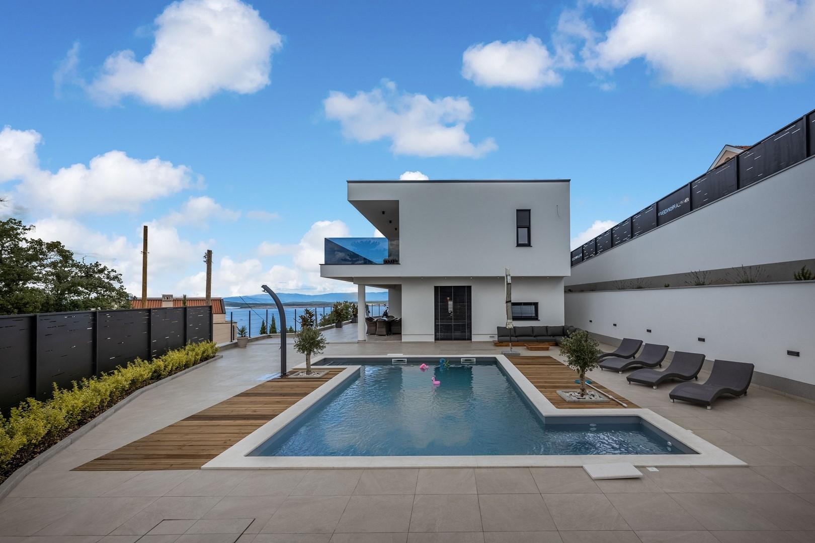 Maison de vacances Deluxe Villa Provvidenza with breathtaking Sea View (2819510), Crikvenica, , Kvarner, Croatie, image 1