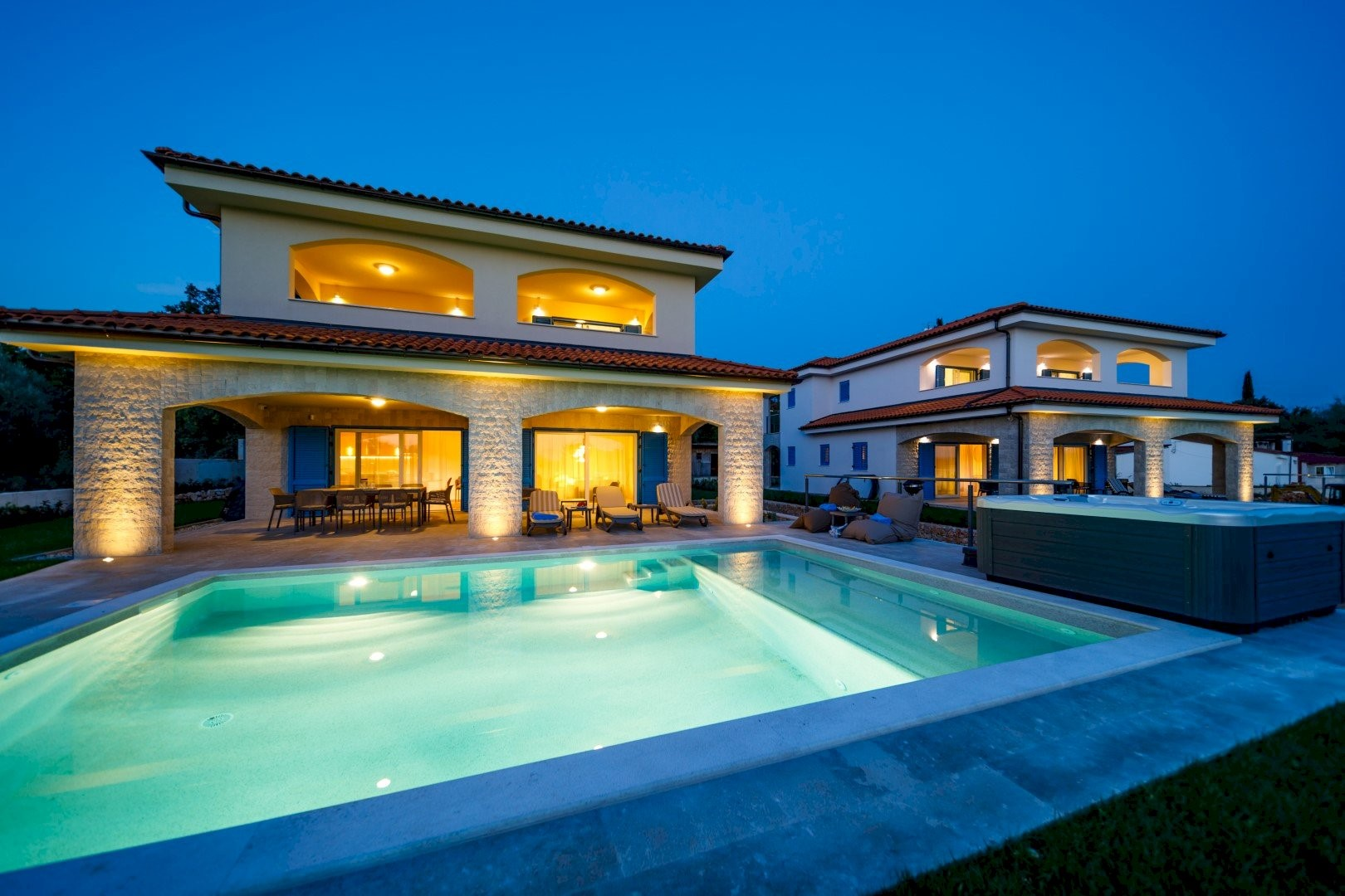 Ferienhaus Luxury Villa Loma 2 (2586643), Sveti Vid-Miholjice, Insel Krk, Kvarner, Kroatien, Bild 2