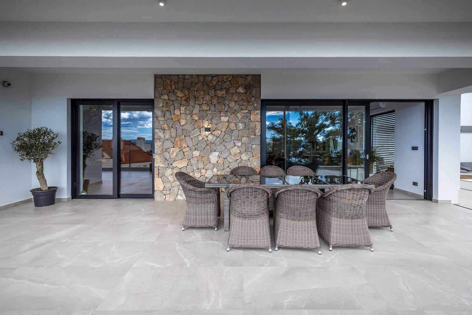 Maison de vacances Deluxe Villa Provvidenza with breathtaking Sea View (2819510), Crikvenica, , Kvarner, Croatie, image 10