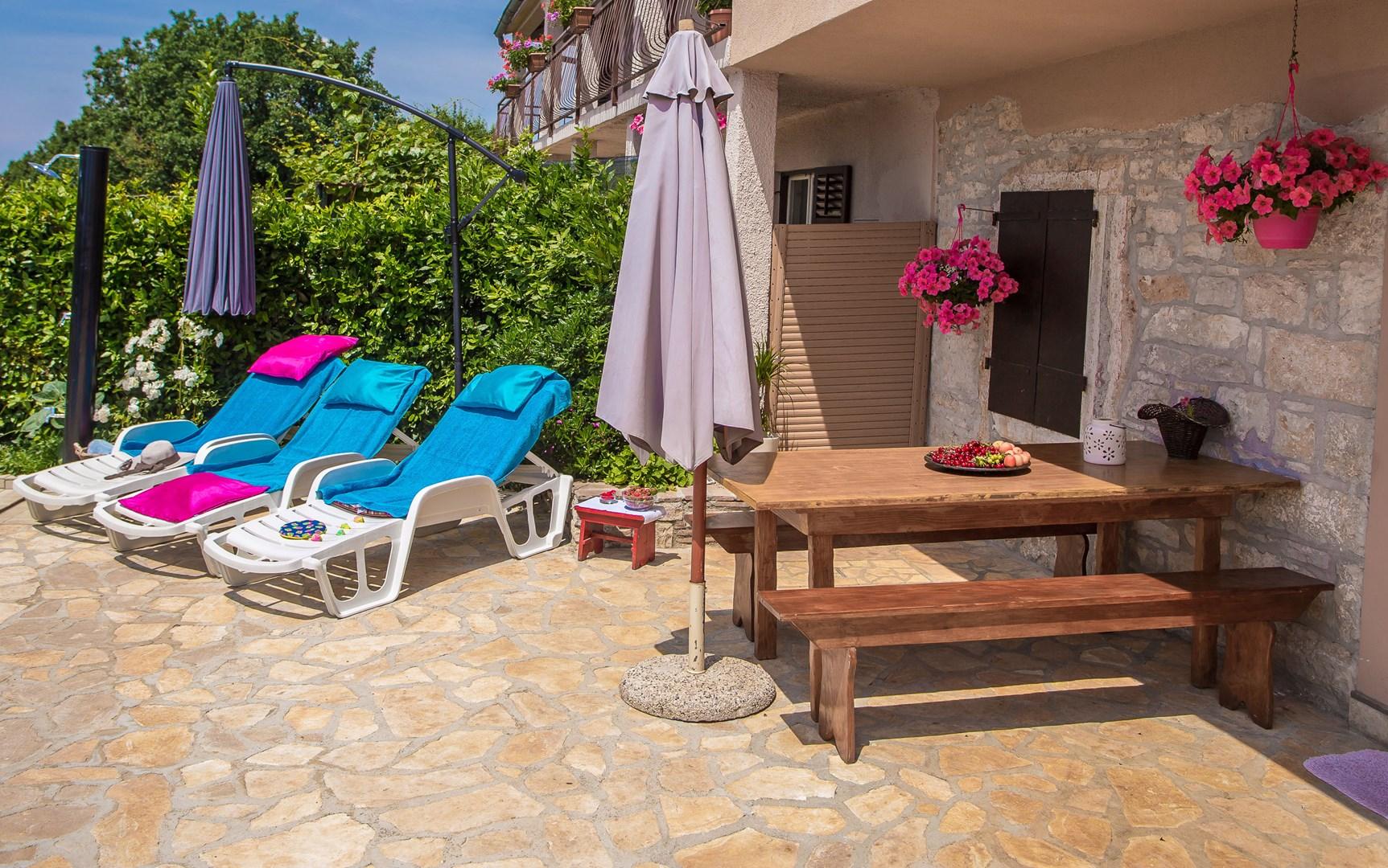 Ferienhaus Marinela mit privatem Pool (1412599), Kanfanar, , Istrien, Kroatien, Bild 2