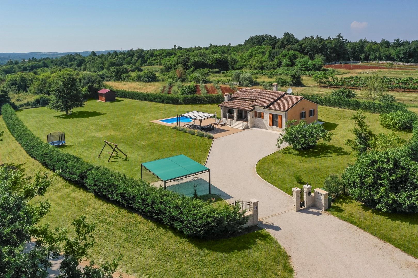 Ferienhaus Villa Elida mit Pool in abgelegene Lage - Zentral-Istrien (2789996), Pazin, , Istrien, Kroatien, Bild 10