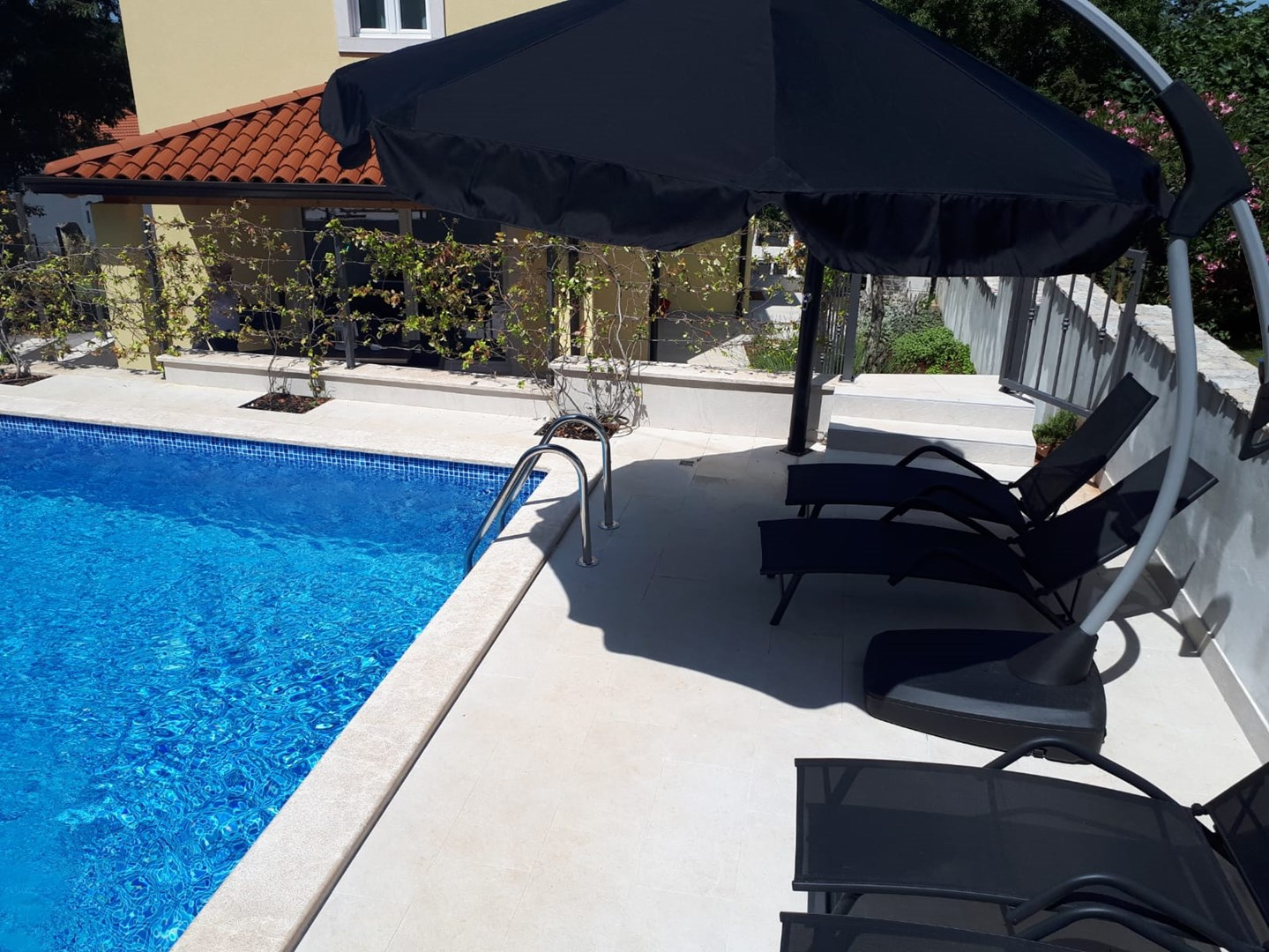 Ferienhaus Villa Albina mit privatem Pool in der Nähe von Aquacolors (2240246), Mugeba, , Istrien, Kroatien, Bild 4