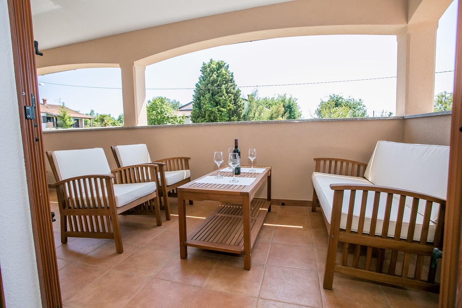 Ferienwohnung Schön eingerichtete Wohnung Stanko I mit Balkon (2191316), Vrvari, , Istrien, Kroatien, Bild 8