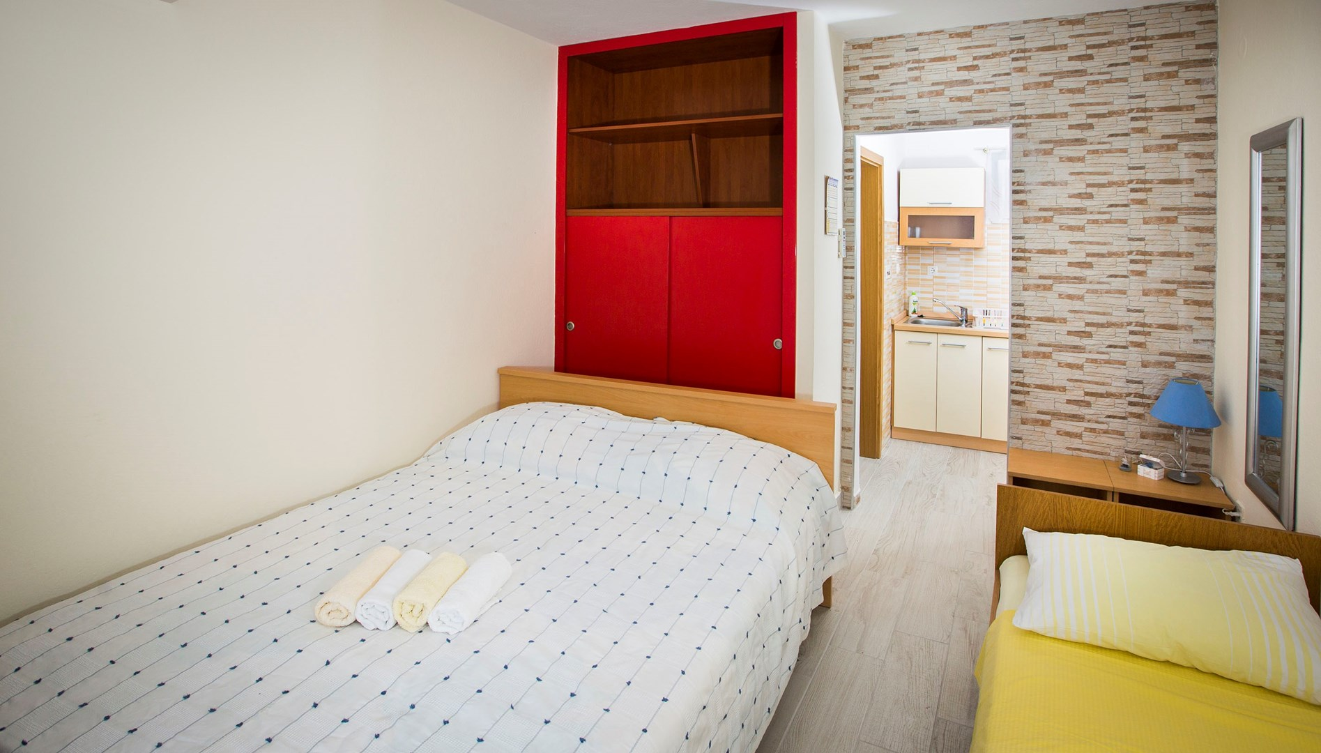 Ferienwohnung Apartments Ana / Studio A2 (1902968), Trogir, , Dalmatien, Kroatien, Bild 4