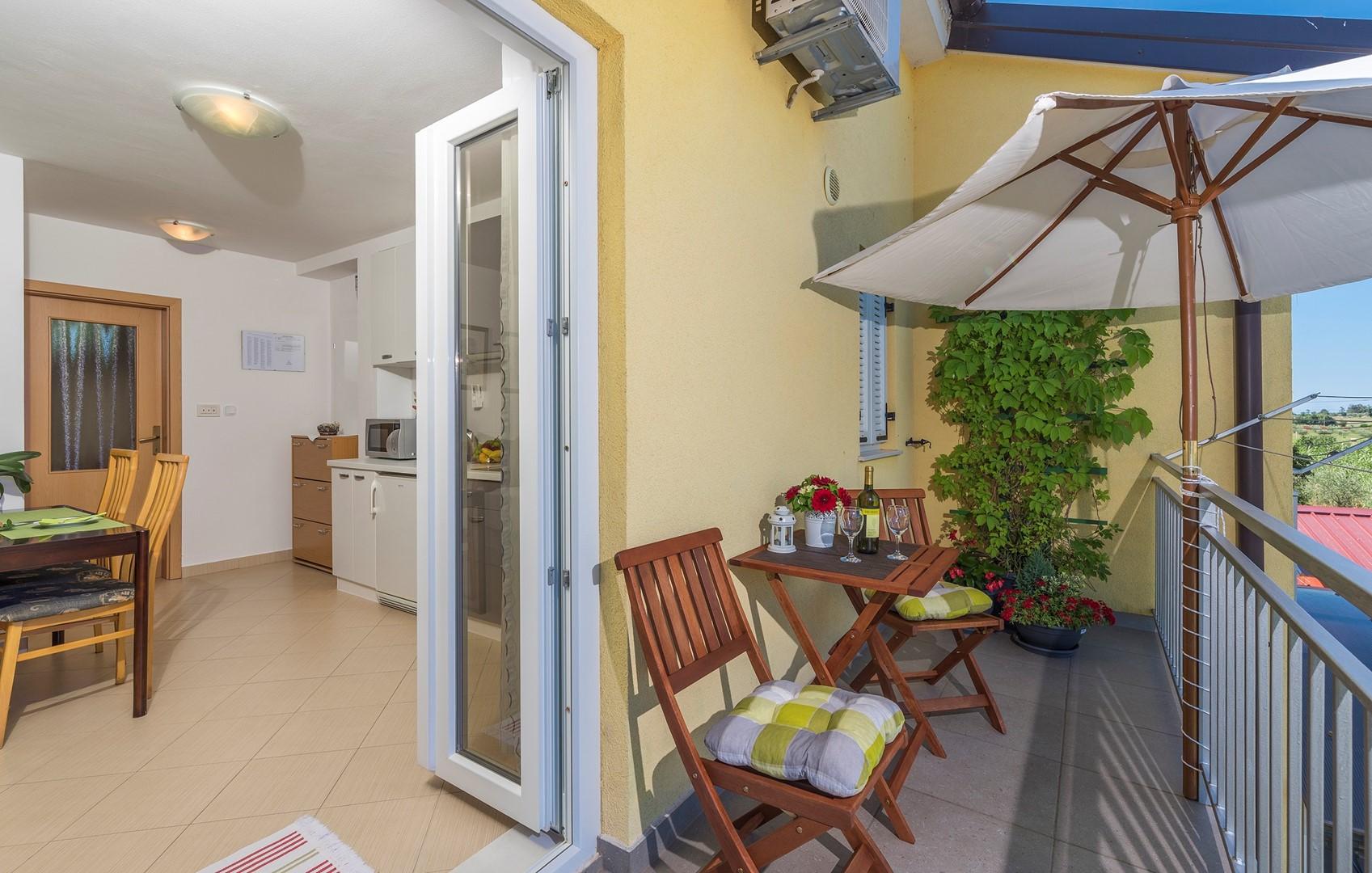 Ferienwohnung Apartnent Nensi mit Balkon (2080952), Vrvari, , Istrien, Kroatien, Bild 13