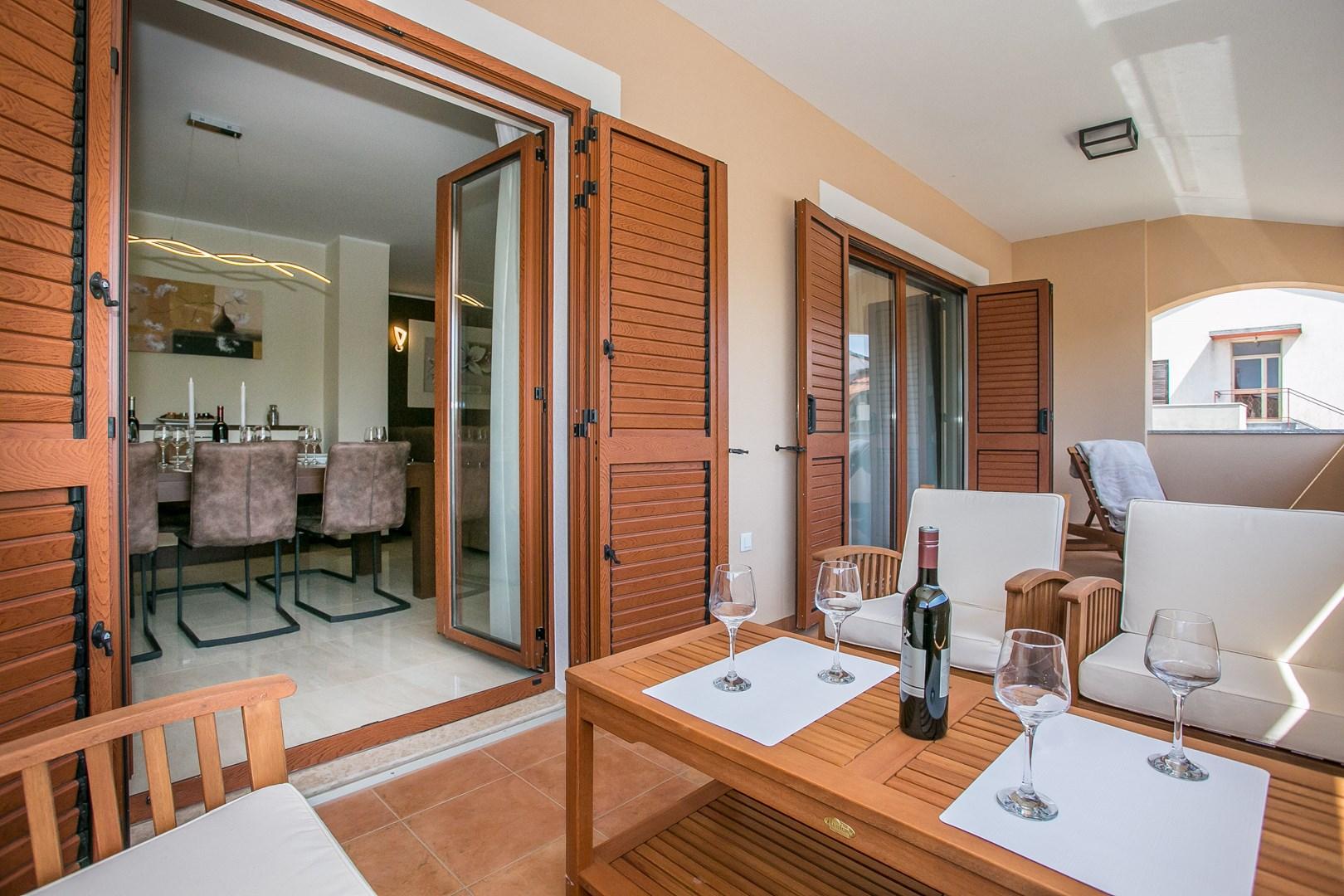 Ferienwohnung Schön eingerichtete Wohnung Stanko I mit Balkon (2191316), Vrvari, , Istrien, Kroatien, Bild 10