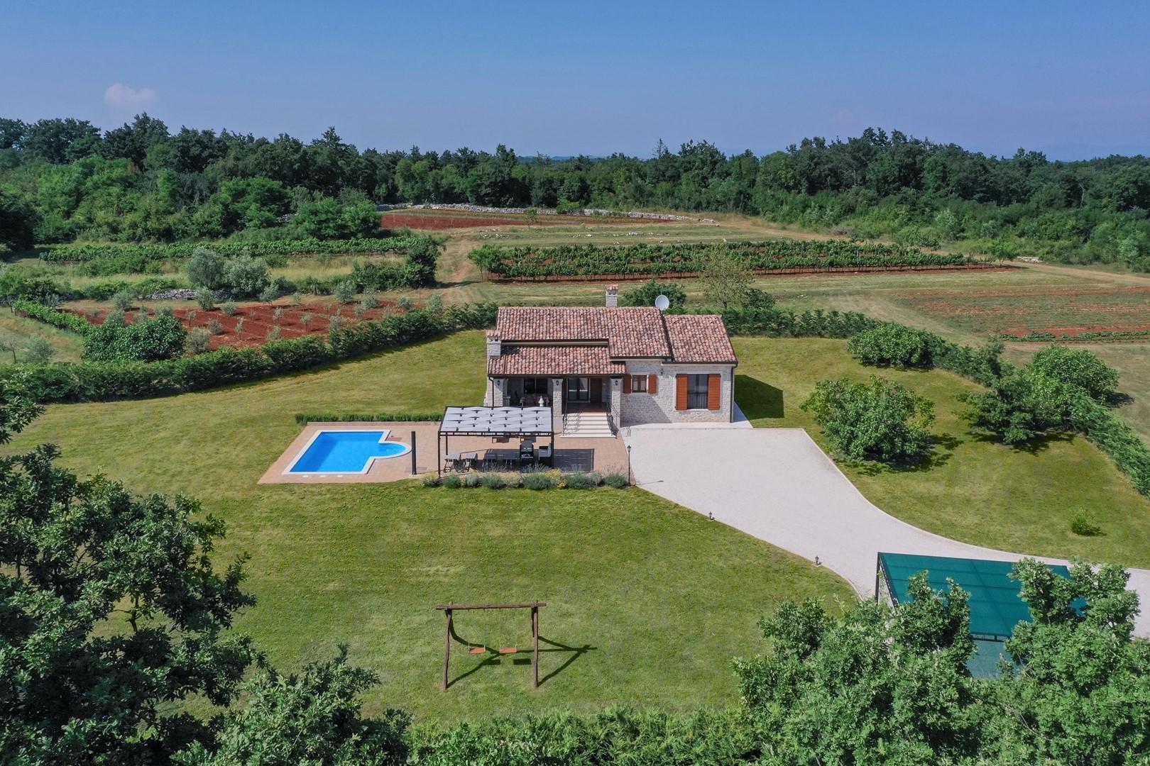 Ferienhaus Villa Elida mit Pool in abgelegene Lage - Zentral-Istrien (2789996), Pazin, , Istrien, Kroatien, Bild 11