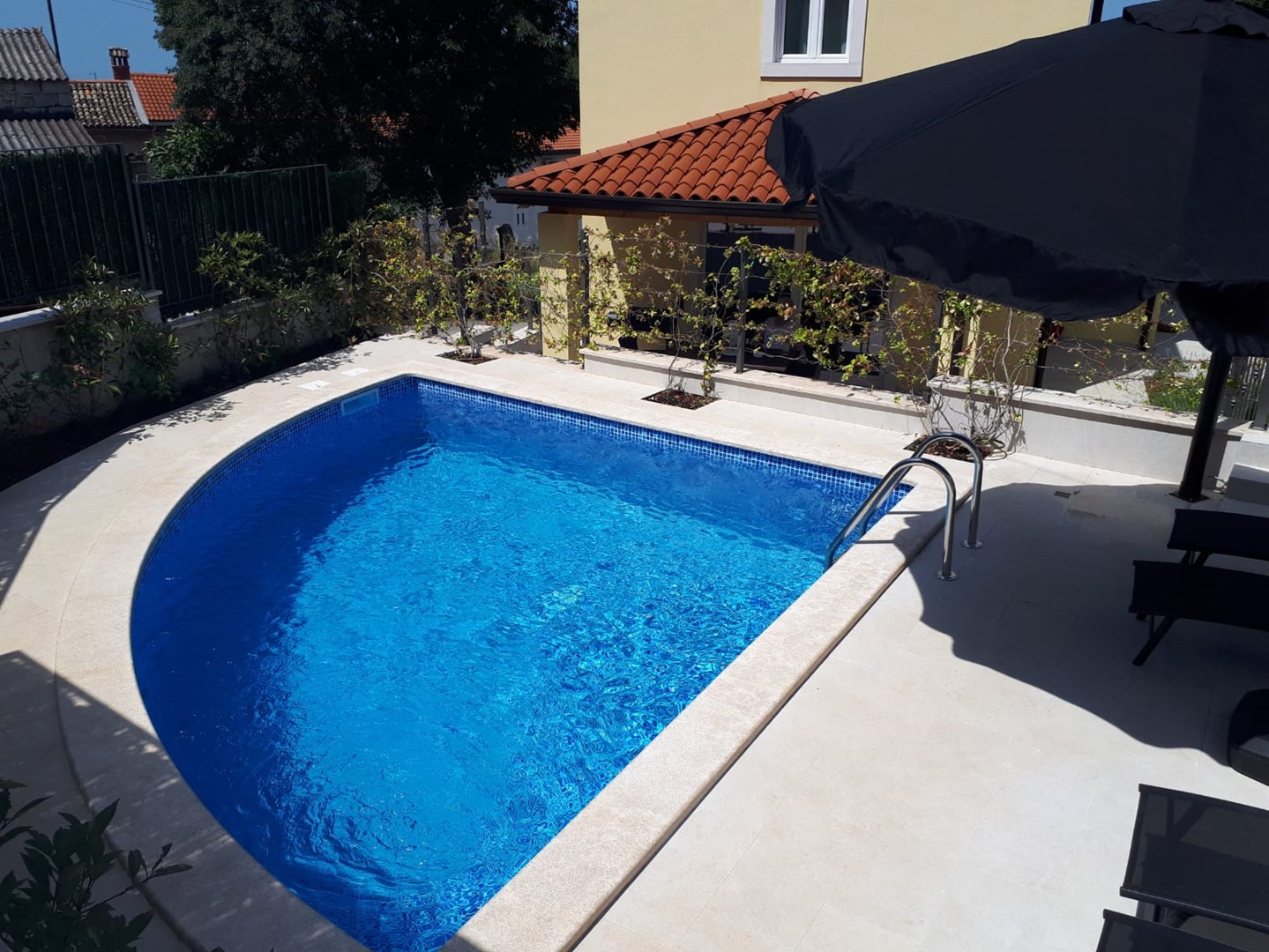 Ferienhaus Villa Albina mit privatem Pool in der Nähe von Aquacolors (2240246), Mugeba, , Istrien, Kroatien, Bild 2