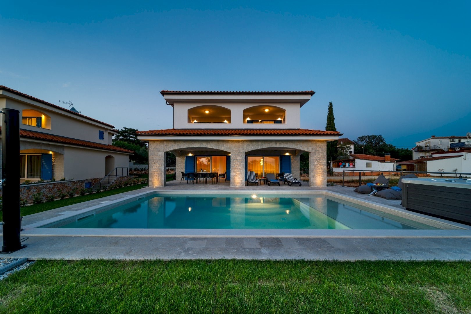 Ferienhaus Luxury Villa Loma 2 (2586643), Sveti Vid-Miholjice, Insel Krk, Kvarner, Kroatien, Bild 4