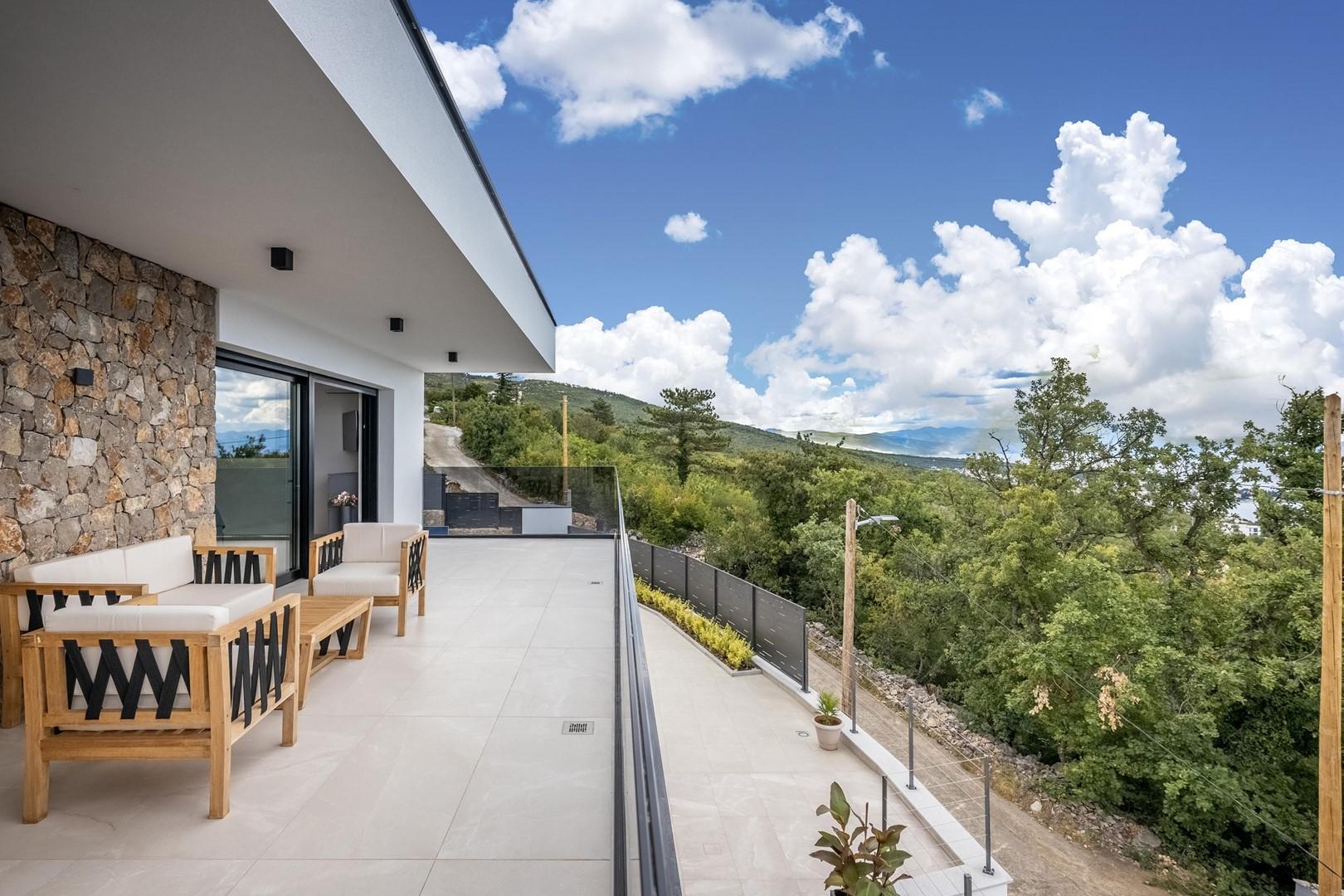 Maison de vacances Deluxe Villa Provvidenza with breathtaking Sea View (2819510), Crikvenica, , Kvarner, Croatie, image 9