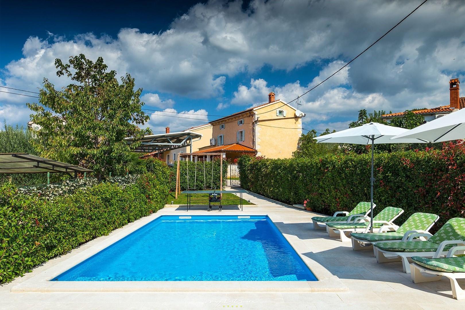 Ferienhaus Villa Bubani / private pool (860332), Kanfanar, , Istrien, Kroatien, Bild 1