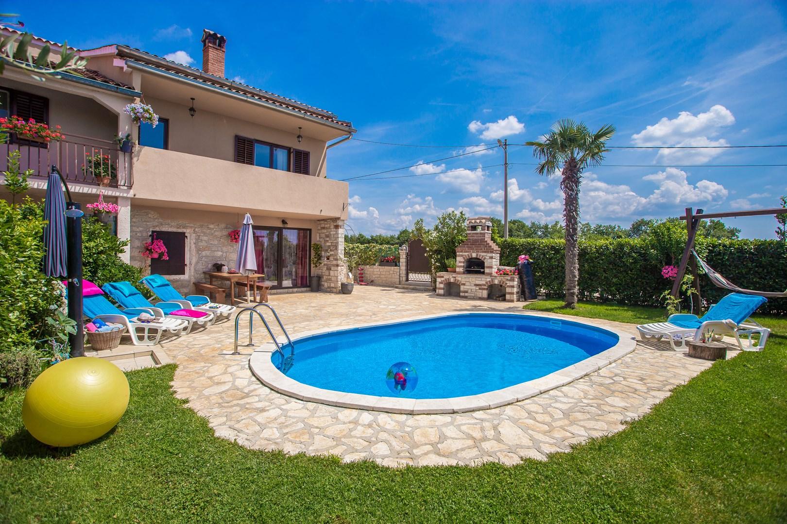 Ferienhaus Marinela mit privatem Pool (1412599), Kanfanar, , Istrien, Kroatien, Bild 10