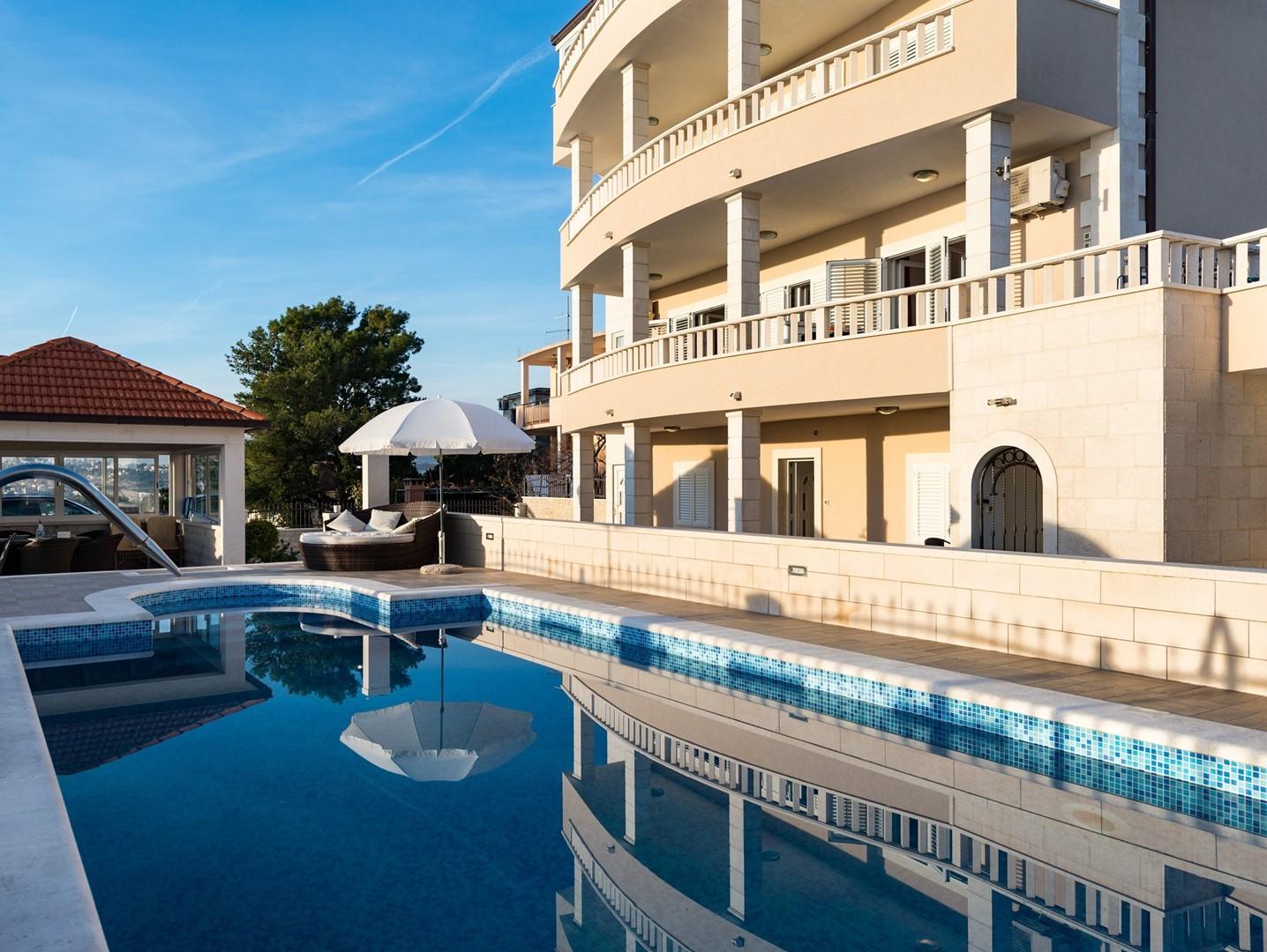 Luxusvilla Miljak  in Kroatien