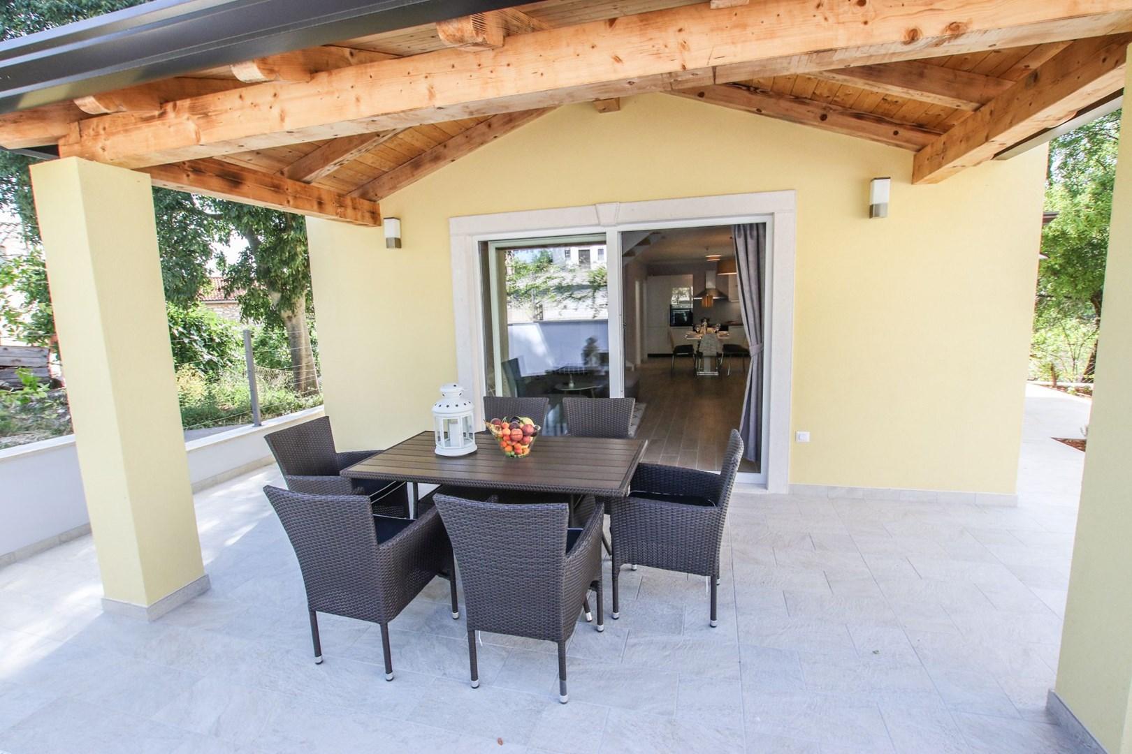 Ferienhaus Villa Albina mit privatem Pool in der Nähe von Aquacolors (2240246), Mugeba, , Istrien, Kroatien, Bild 3