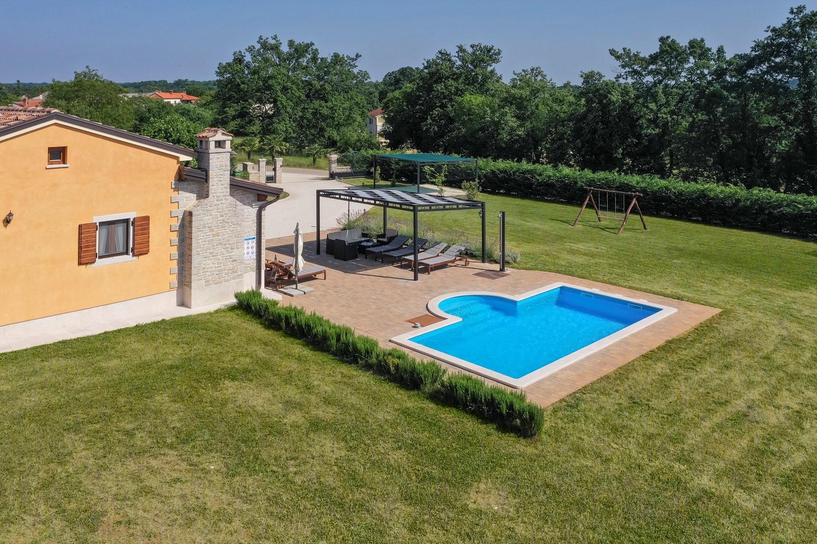Ferienhaus Villa Elida mit Pool in abgelegene Lage - Zentral-Istrien (2789996), Pazin, , Istrien, Kroatien, Bild 13