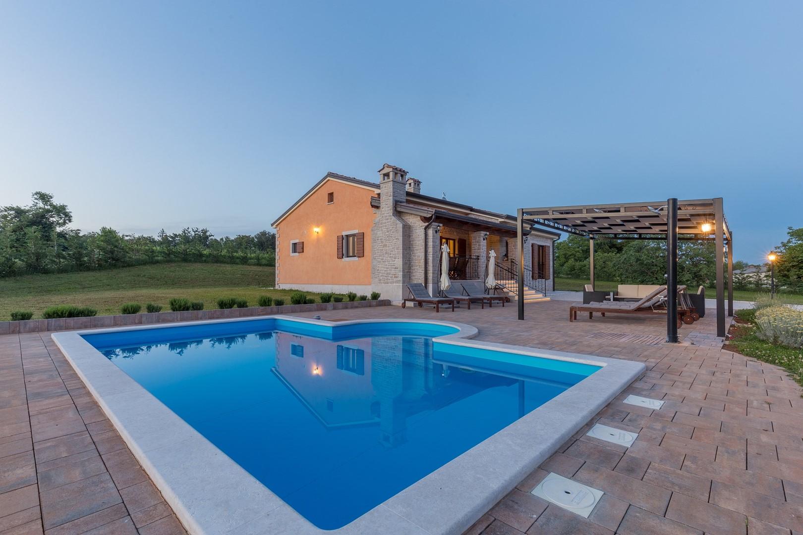 Ferienhaus Villa Elida mit Pool in abgelegene Lage - Zentral-Istrien (2789996), Pazin, , Istrien, Kroatien, Bild 36