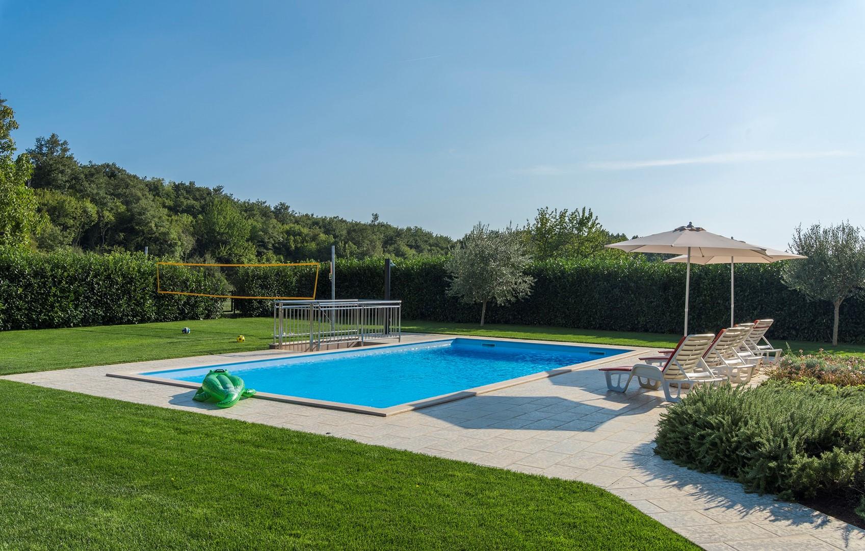 Ferienhaus Geräumige Villa Nikka mit schönem Garten und Pool (1412592), Kanfanar, , Istrien, Kroatien, Bild 7