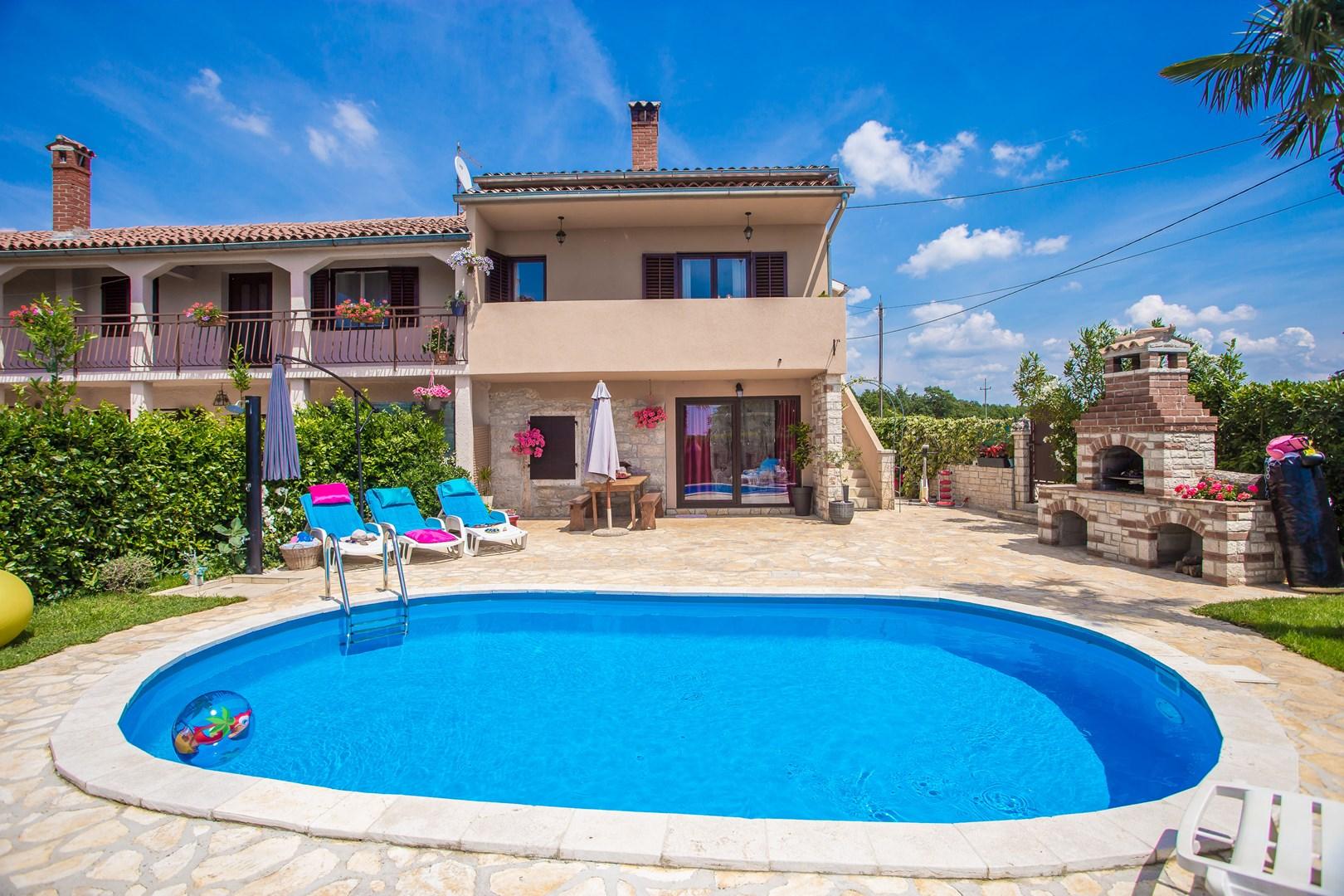 Ferienhaus Marinela mit privatem Pool (1412599), Kanfanar, , Istrien, Kroatien, Bild 1