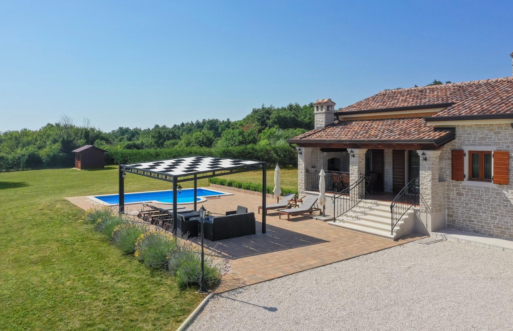 Ferienhaus Villa Elida mit Pool in abgelegene Lage - Zentral-Istrien (2789996), Pazin, , Istrien, Kroatien, Bild 41